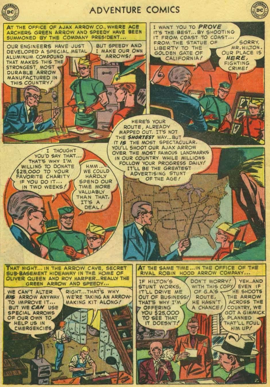 Read online Adventure Comics (1938) comic -  Issue #168 - 36