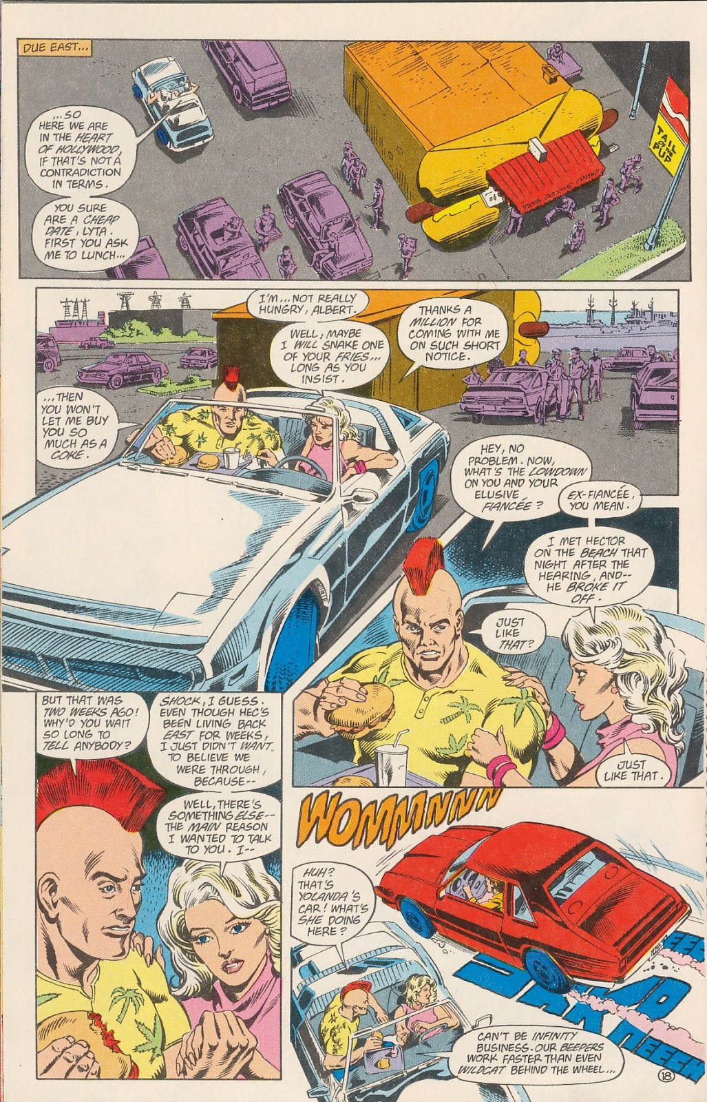 Infinity Inc. (1984) issue 40 - Page 20