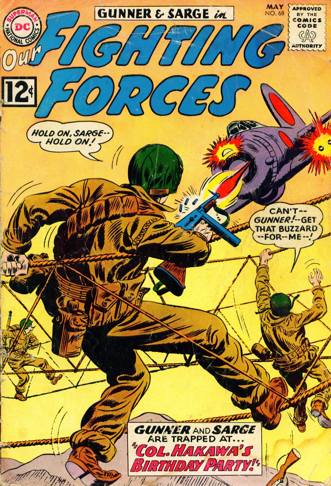Our Fighting Forces (1954) issue 68 - Page 1