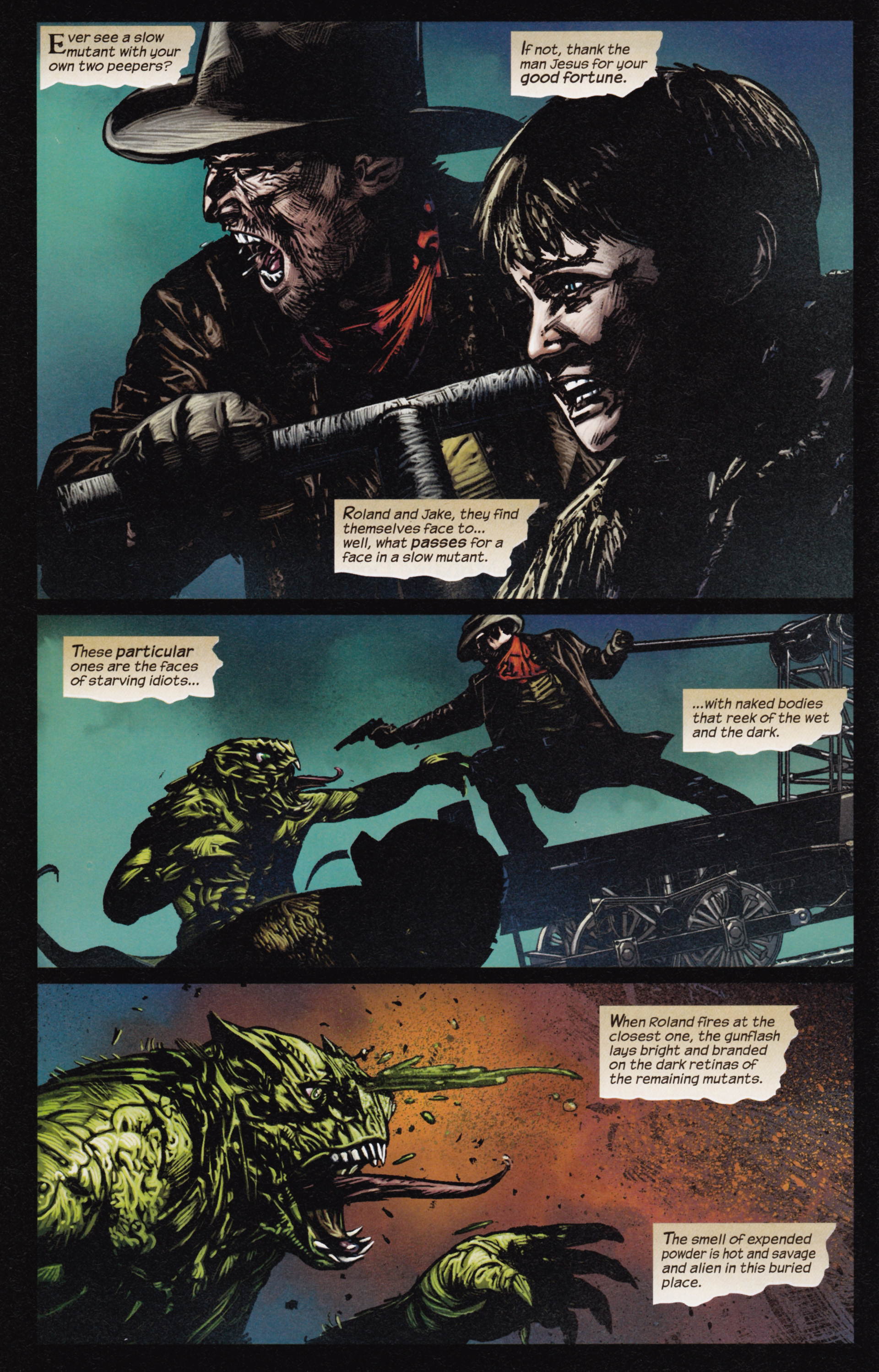 Read online Dark Tower: The Gunslinger - The Man in Black comic -  Issue #3 - 3