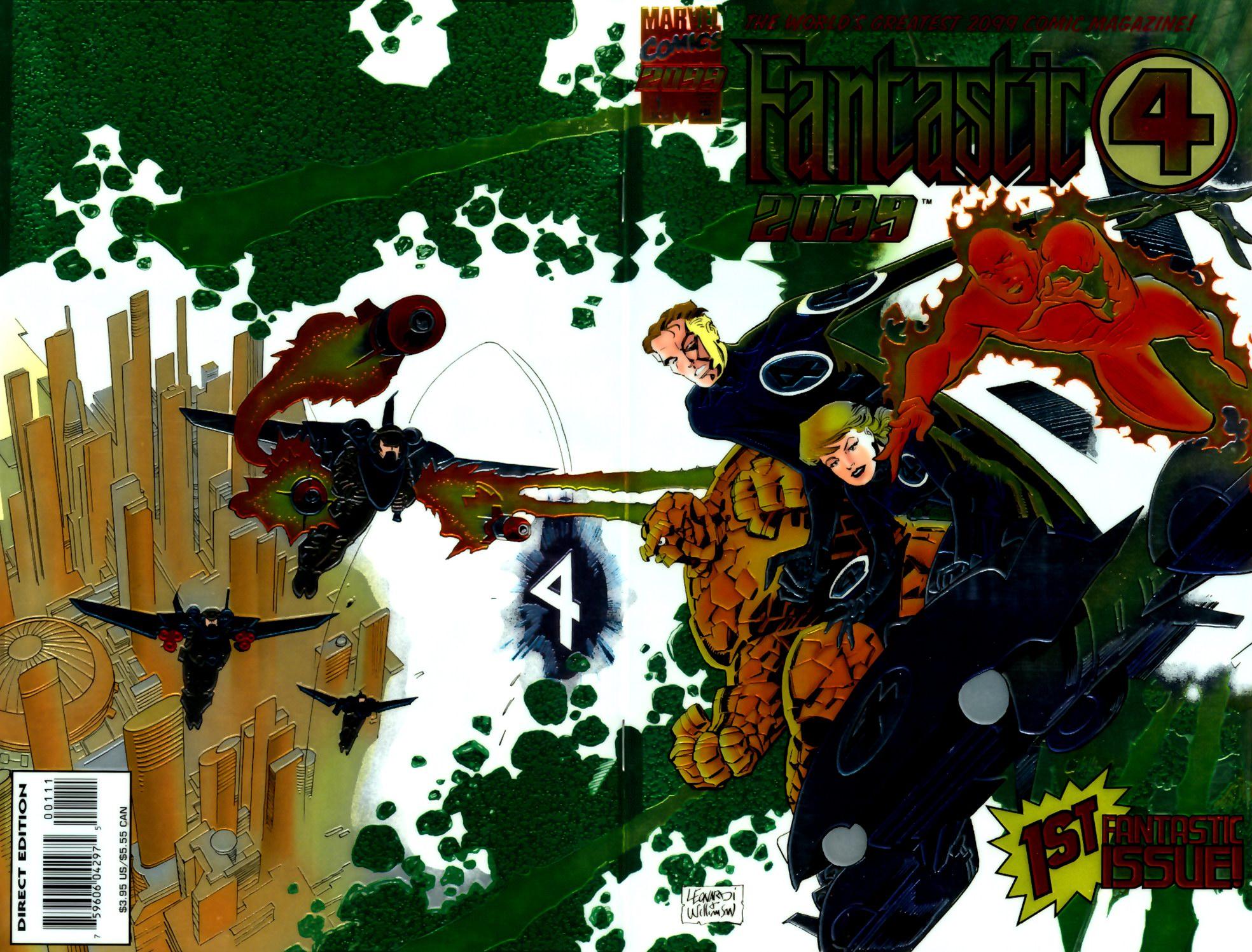 Fantastic Four 2099 1 Page 1