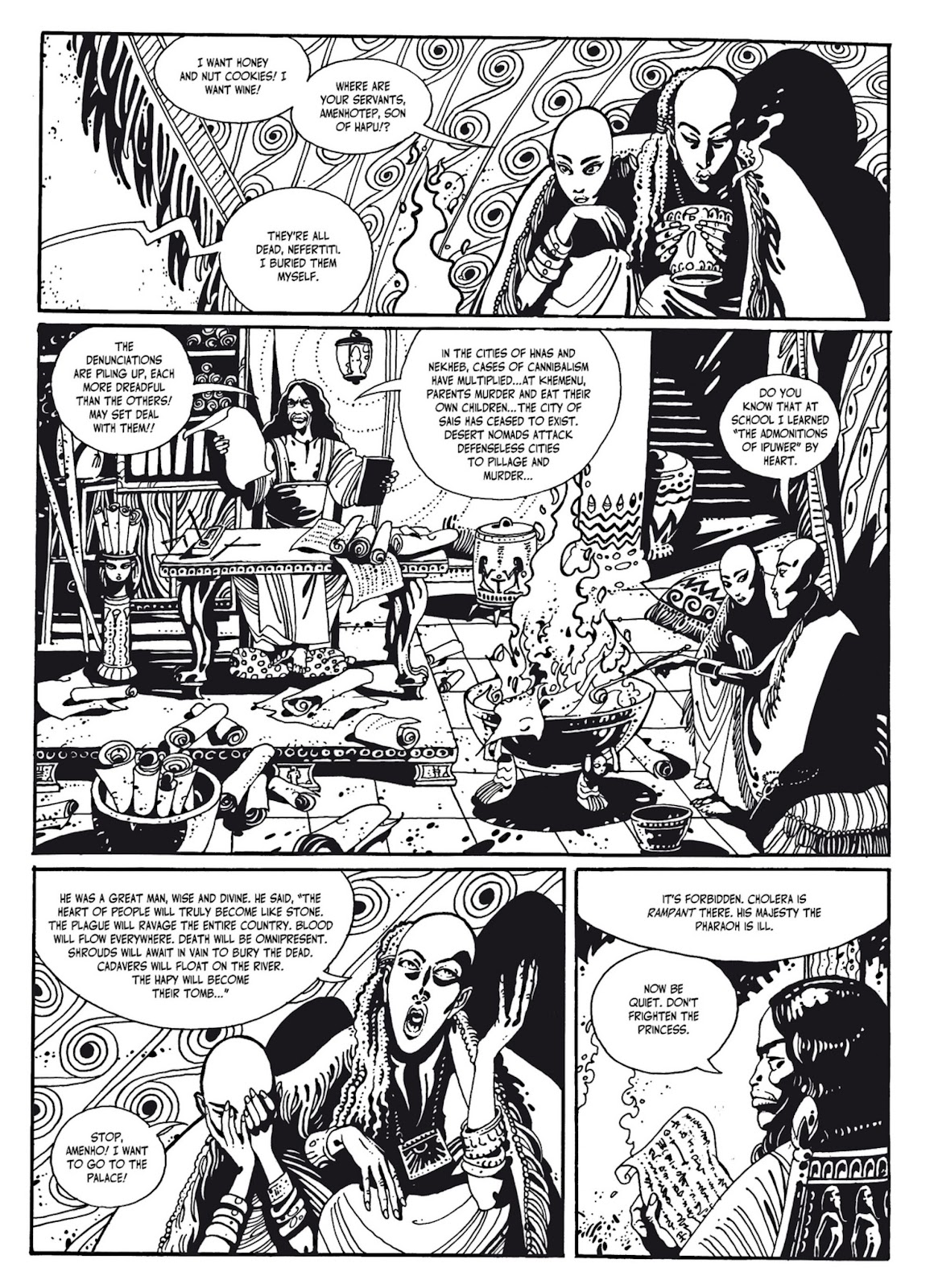 Read online The Egyptian Princesses comic -  Issue # TPB 1 (Part 2) - 81