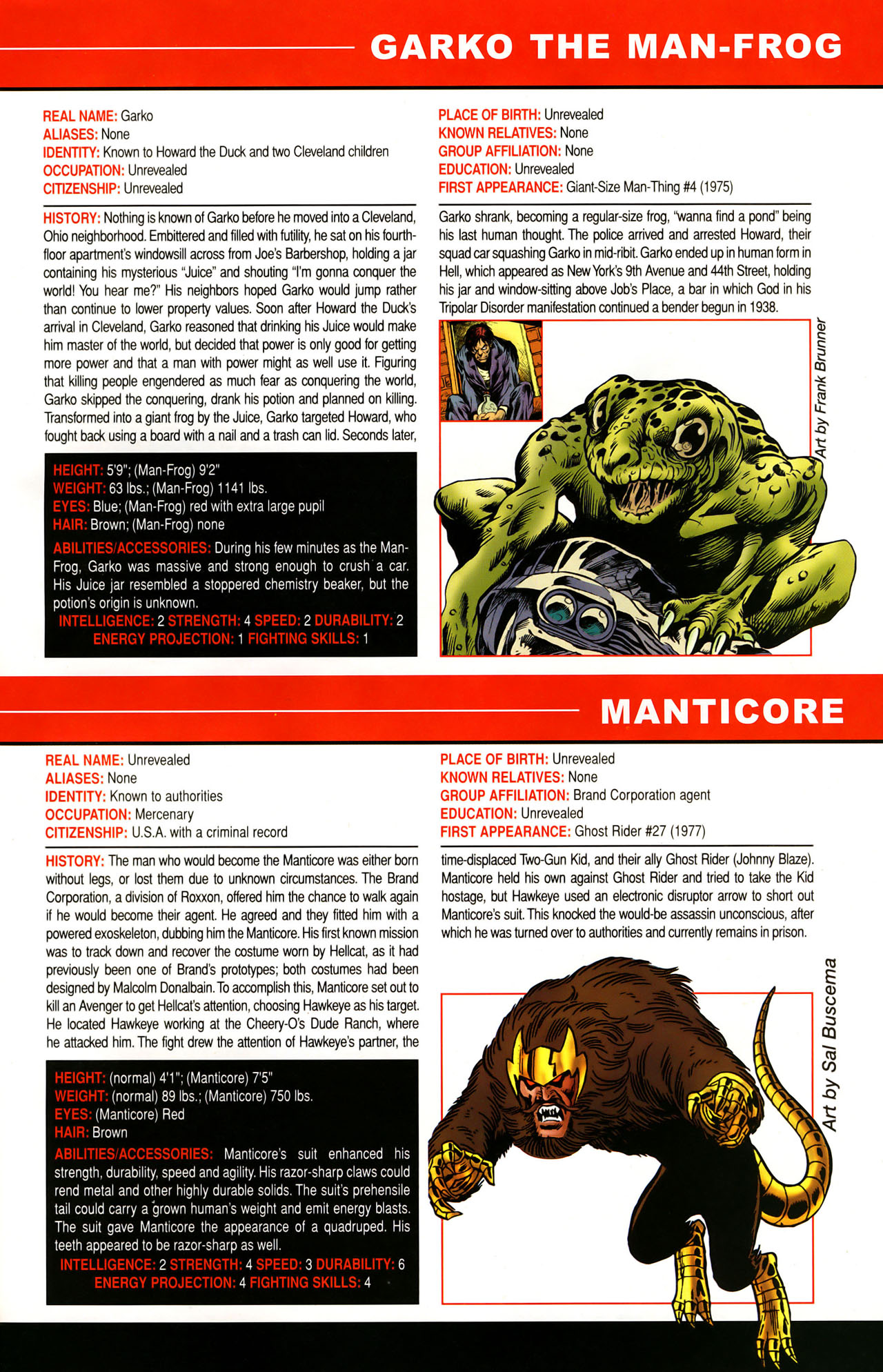 Read online All-New Official Handbook of the Marvel Universe A to Z: Update comic -  Issue #1 - 64
