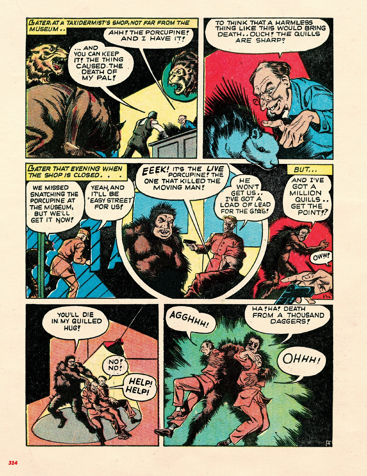 Read online Super Weird Heroes comic -  Issue # TPB 2 (Part 3) - 114