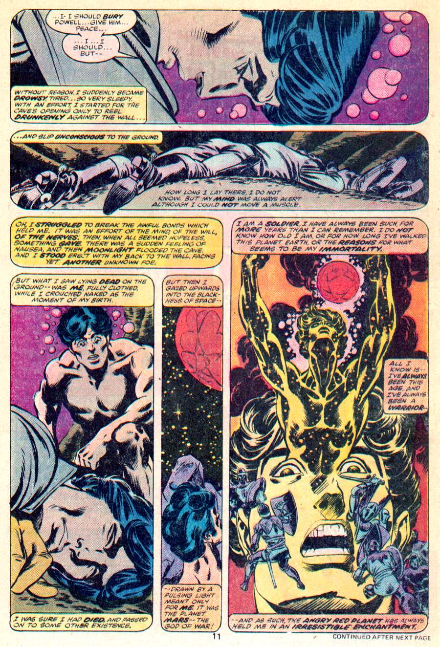 John Carter Warlord of Mars issue 1 - Page 8