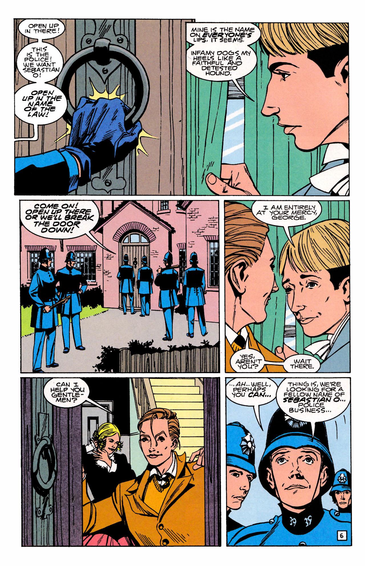 Read online Sebastian O comic -  Issue #3 - 8