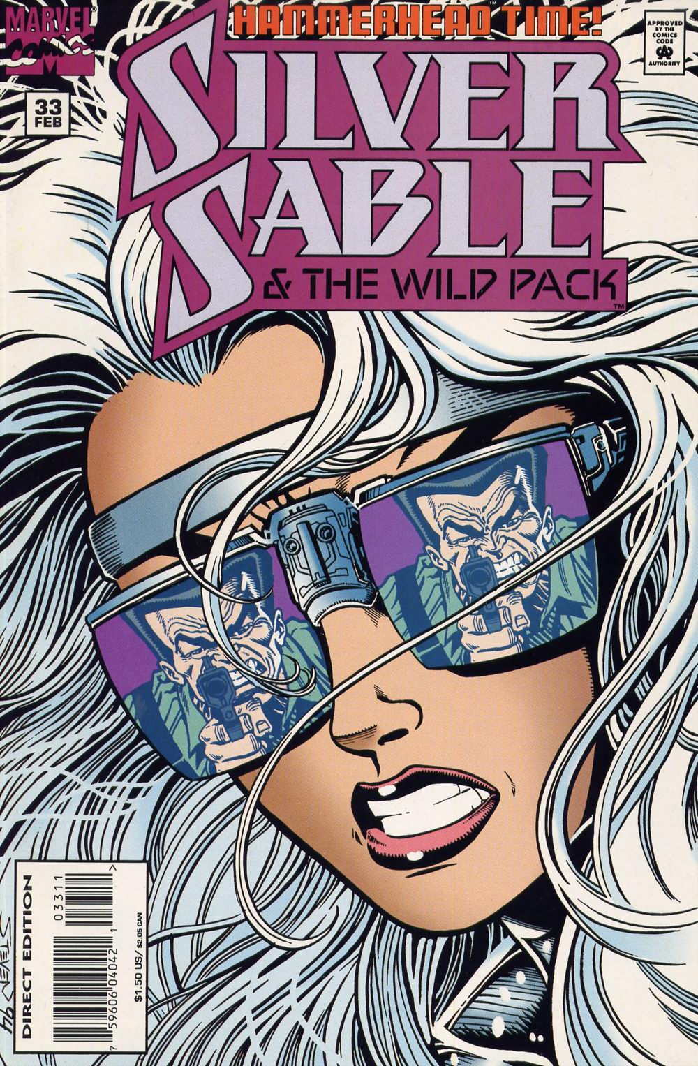 Read online Silver Sable and the Wild Pack comic -  Issue #33 - 1