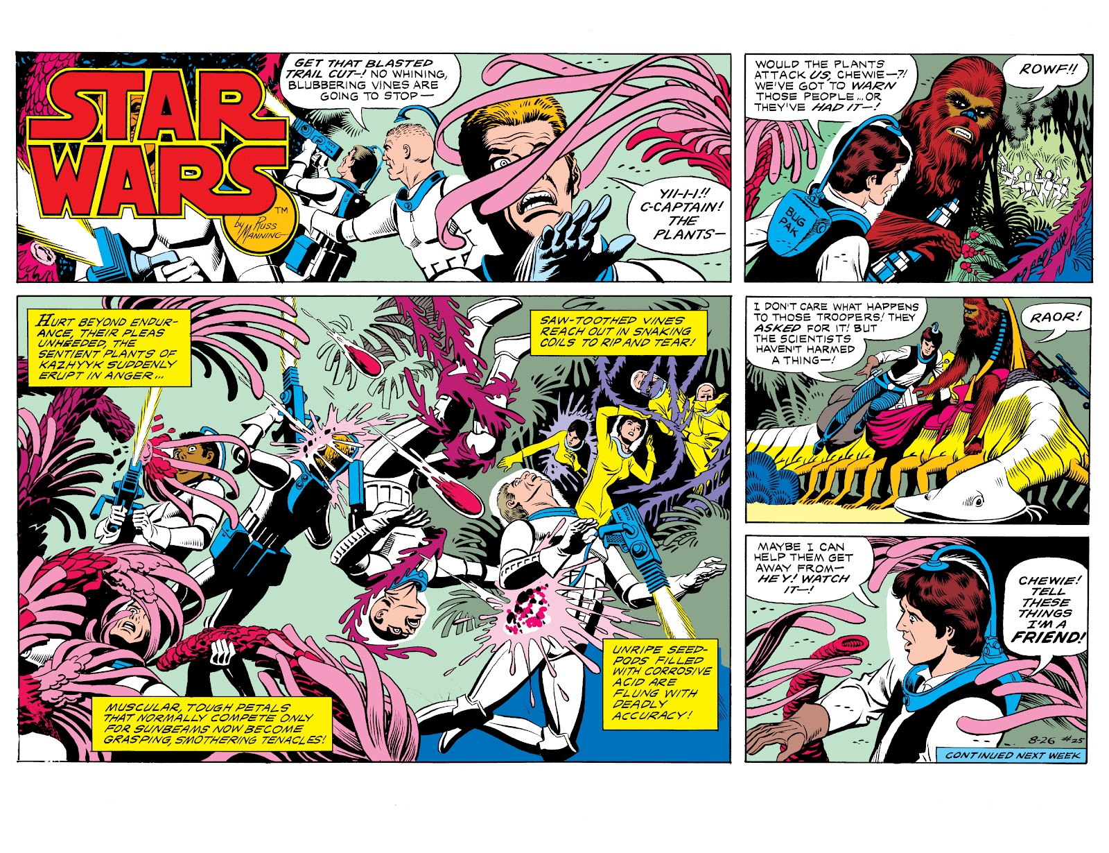 Read online Star Wars Legends: The Newspaper Strips - Epic Collection comic -  Issue # TPB (Part 1) - 32