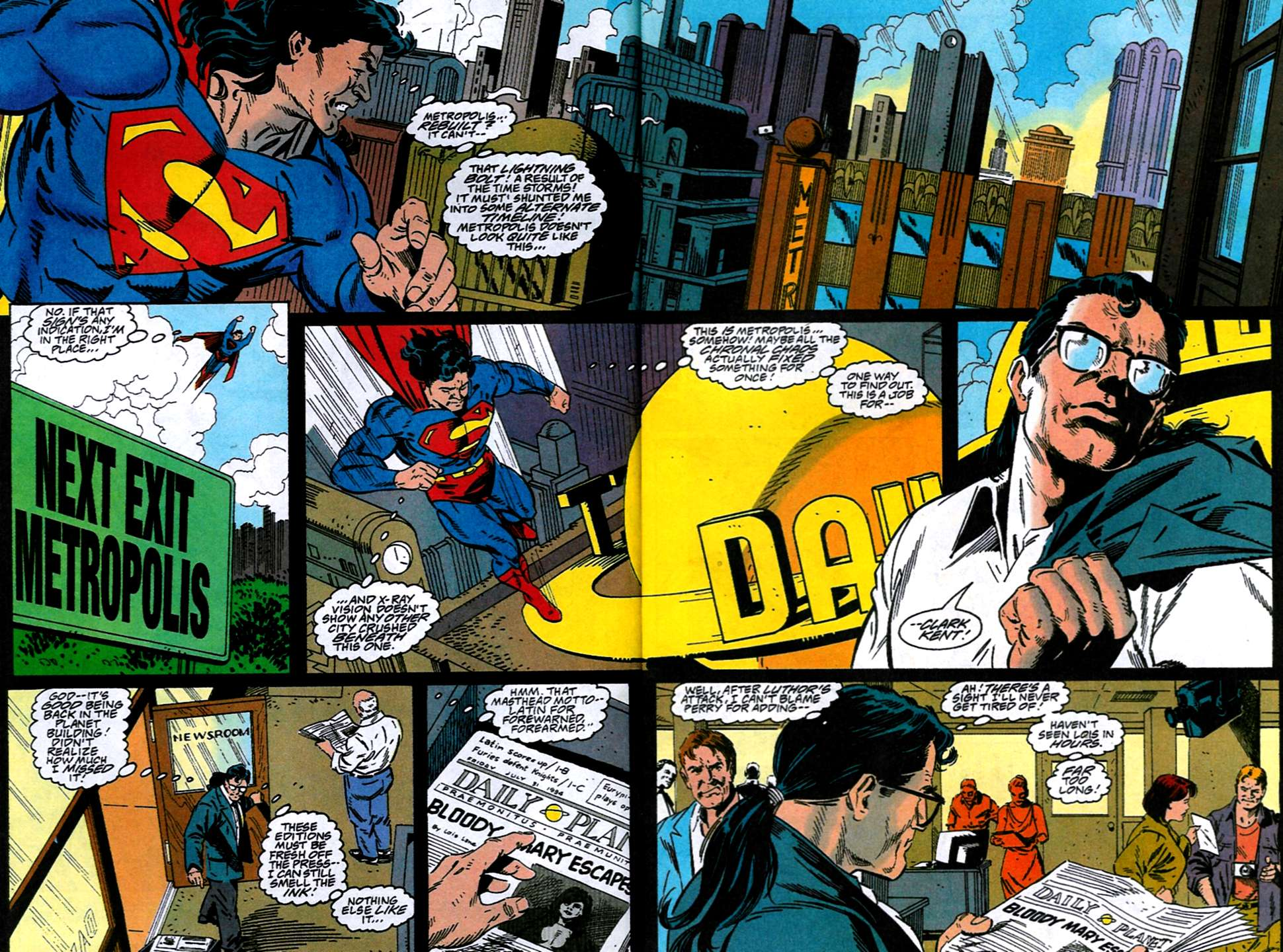 Read online Adventures of Superman (1987) comic -  Issue #516 - 3