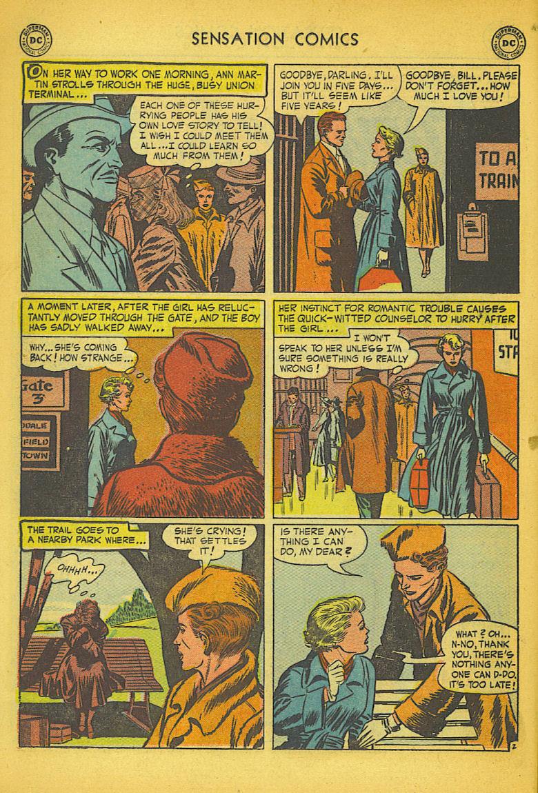Read online Sensation (Mystery) Comics comic -  Issue #104 - 18