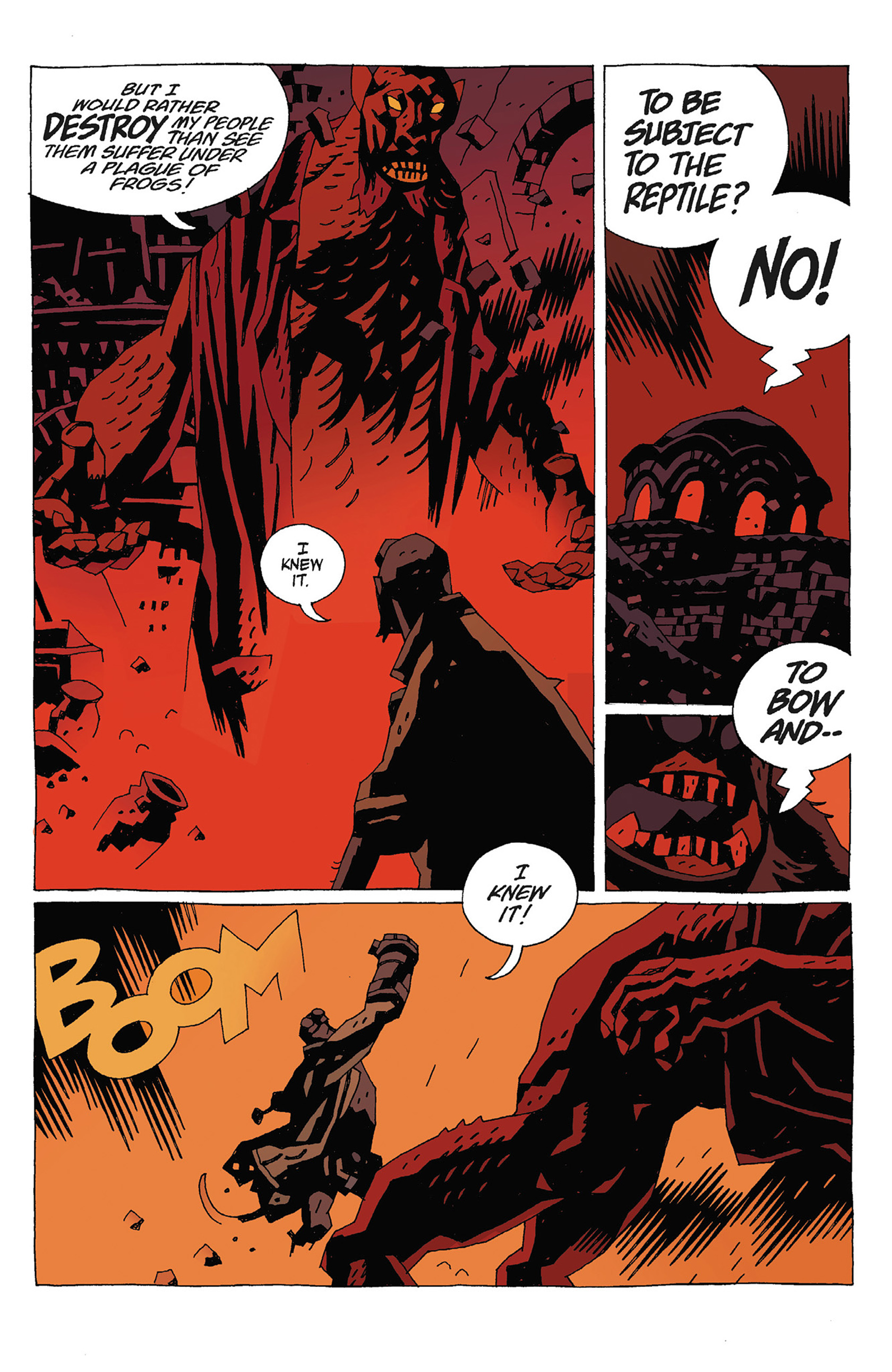 Read online Hellboy: Strange Places comic -  Issue # TPB - 115