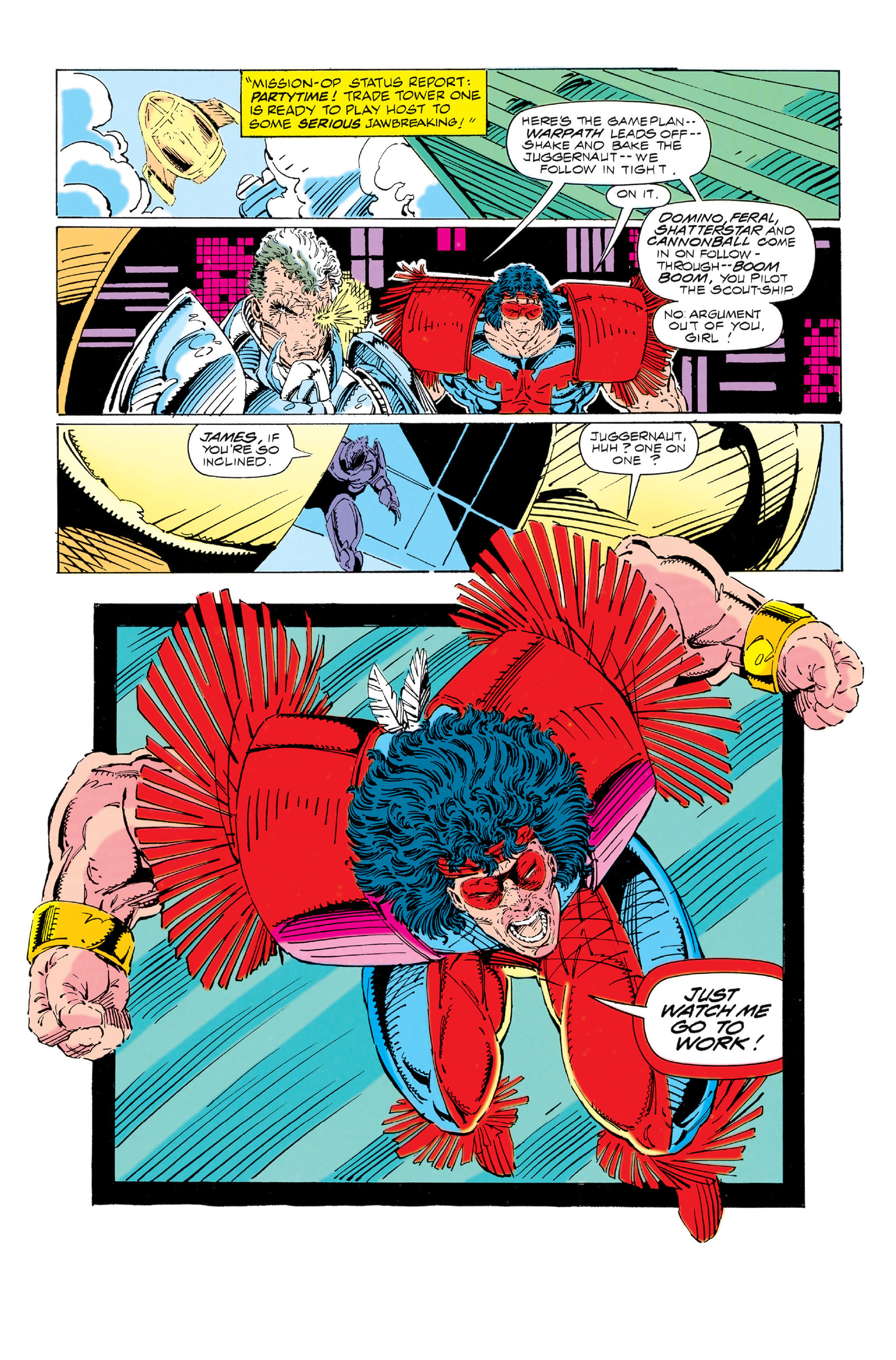 Read online X-Force (1991) comic -  Issue #3 - 10