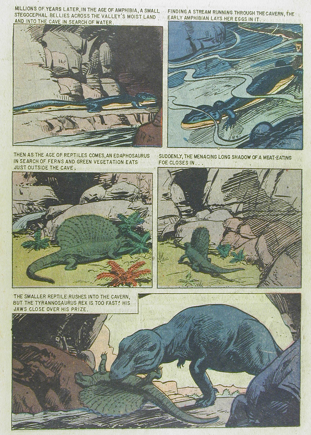Read online Turok, Son of Stone comic -  Issue #13 - 19