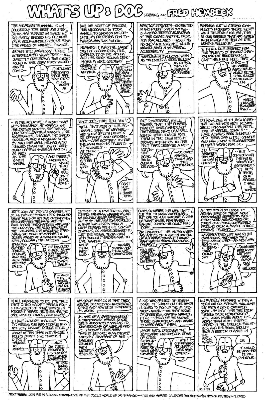 Read online The Nearly Complete Essential Hembeck Archives Omnibus comic -  Issue # TPB (Part 4) - 39