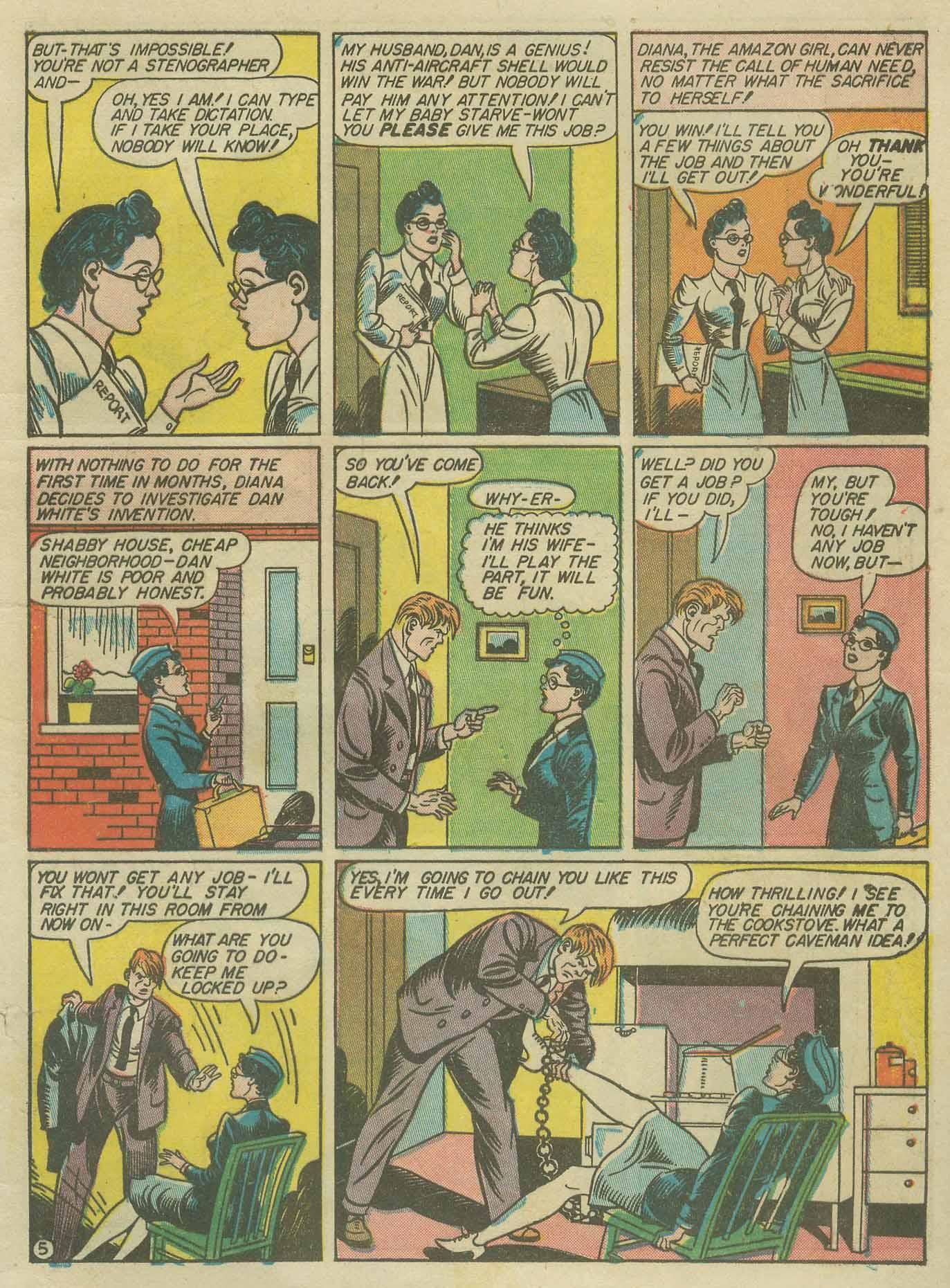 Read online Sensation (Mystery) Comics comic -  Issue #9 - 7