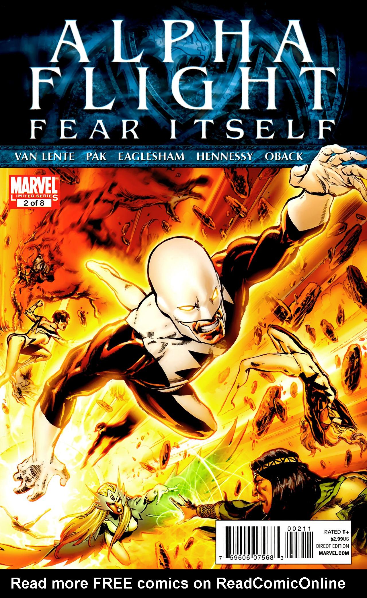 Read online Alpha Flight (2011) comic -  Issue #2 - 1