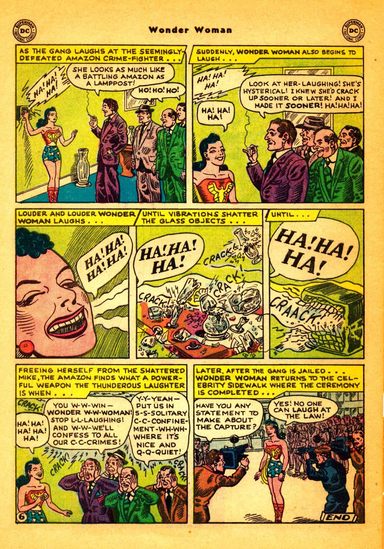 Read online Wonder Woman (1942) comic -  Issue #86 - 31