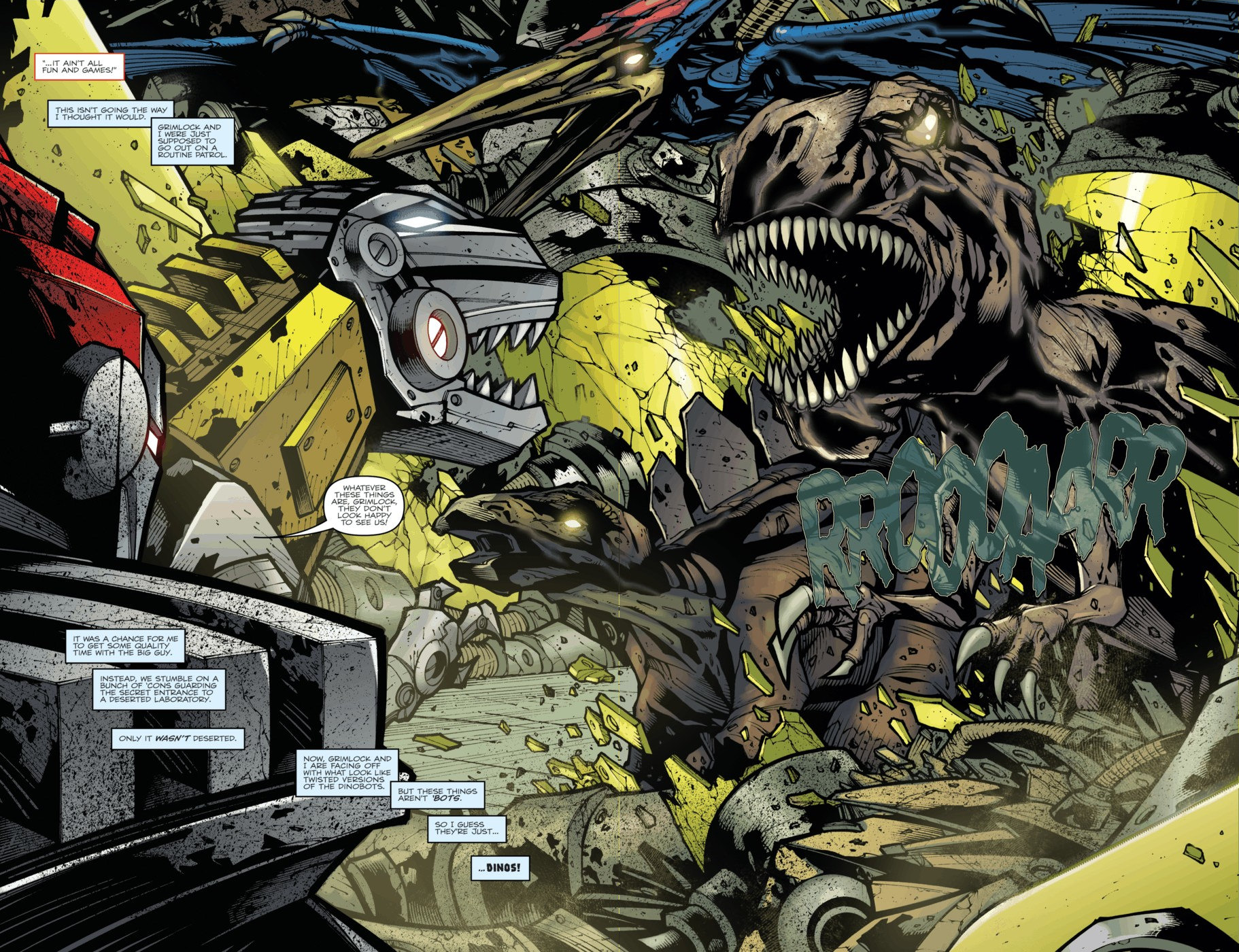 Read online Transformers Prime: Beast Hunters comic -  Issue #4 - 4
