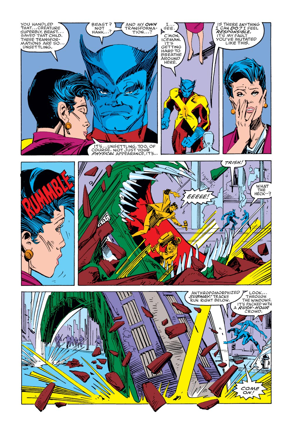Read online X-Factor (1986) comic -  Issue #36 - 4