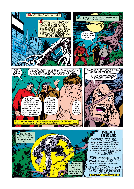 Read online Amazing Adventures (1970) comic -  Issue #12 - 22