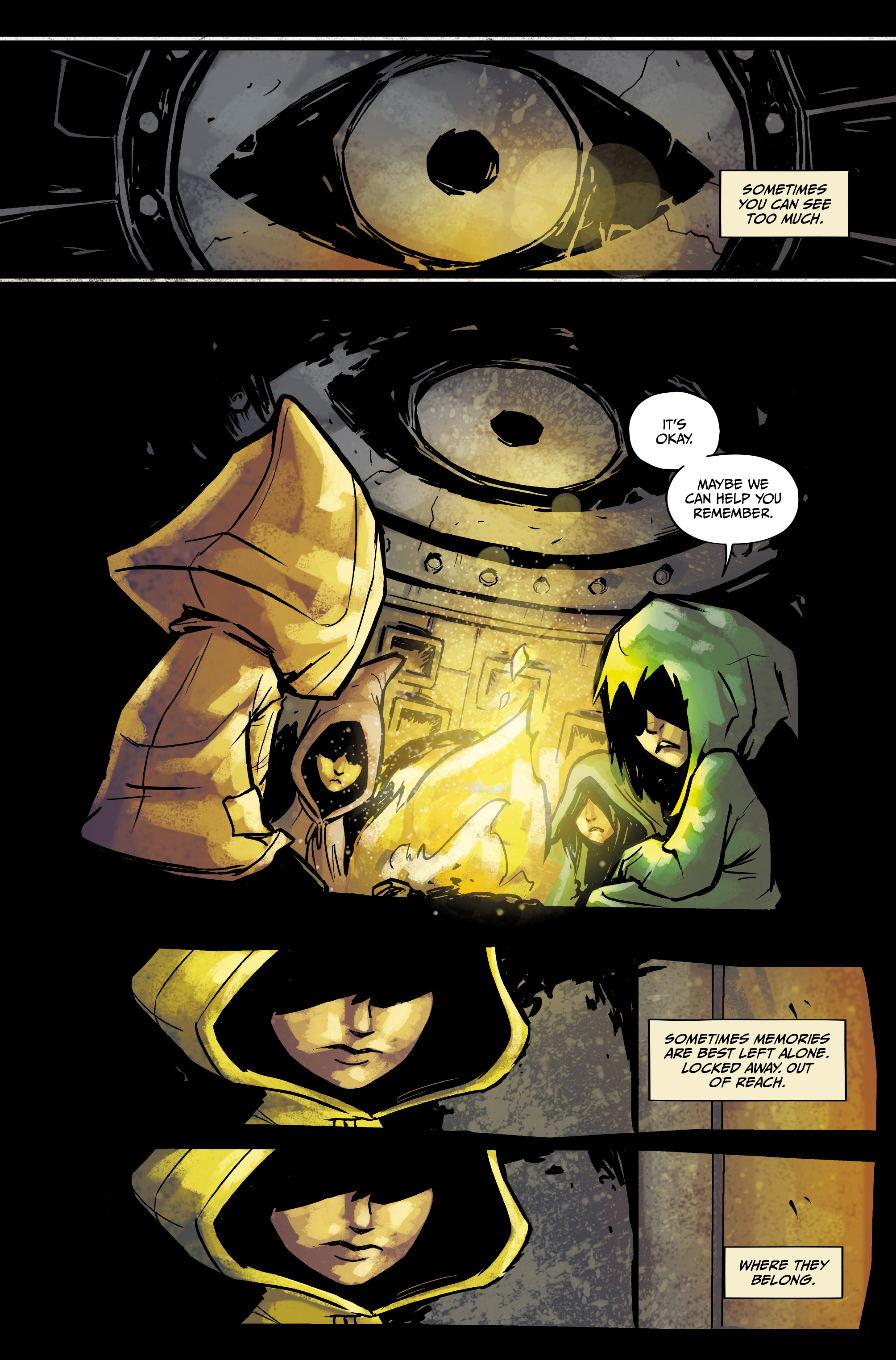 Read online Little Nightmares comic -  Issue #1 - 14