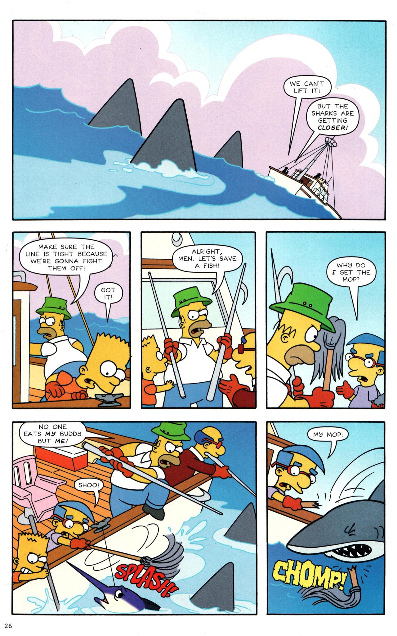 Read online Simpsons Comics comic -  Issue #135 - 21