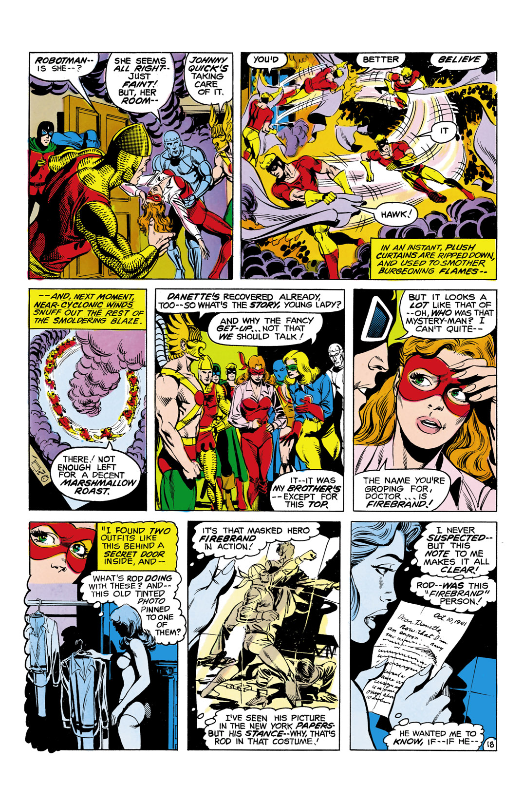 Read online All-Star Squadron comic -  Issue #5 - 19