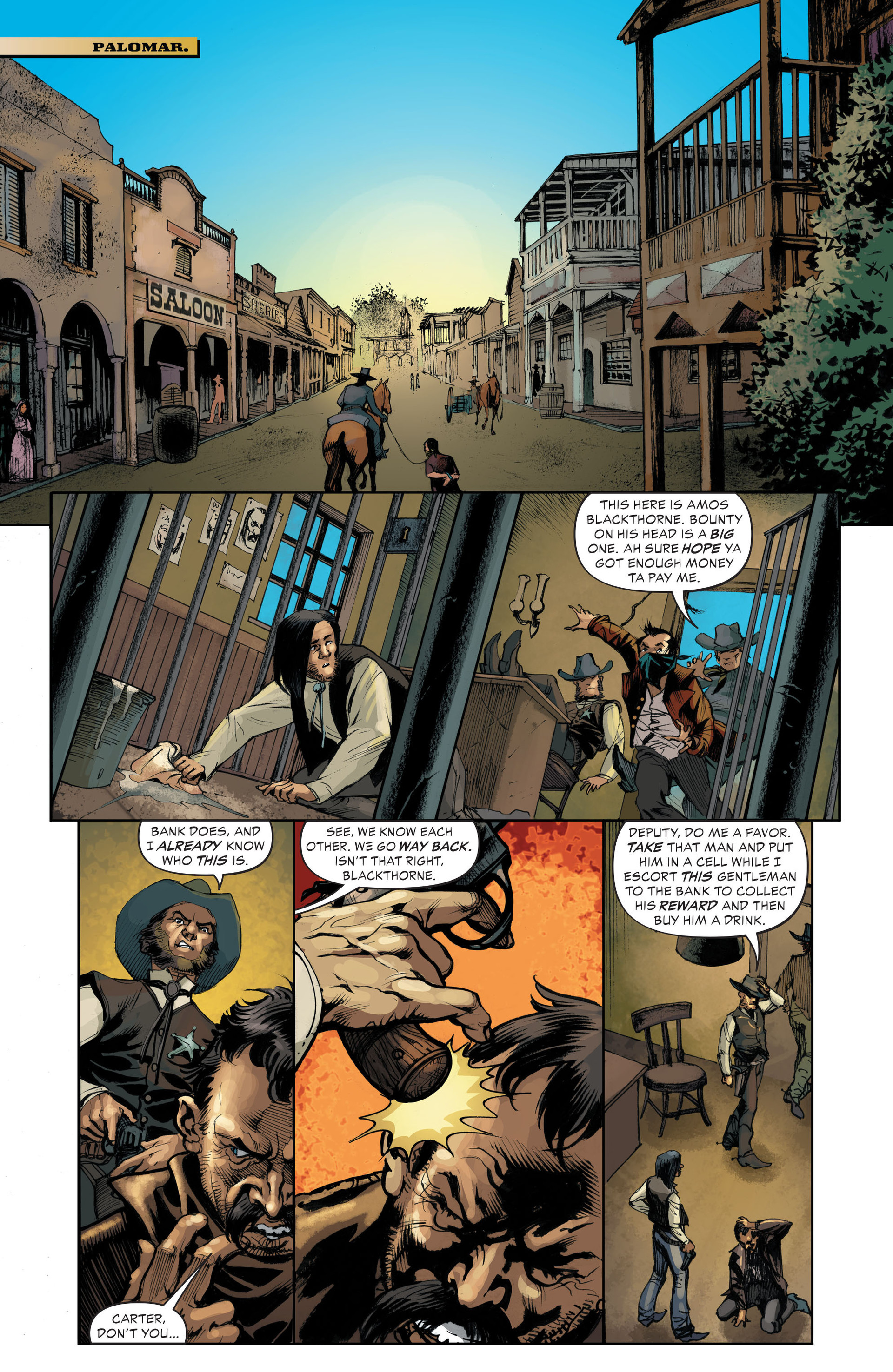Read online All-Star Western (2011) comic -  Issue #33 - 17