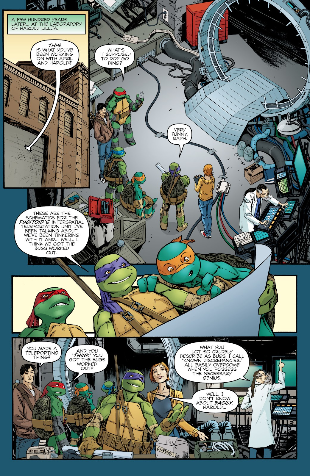 Read online Teenage Mutant Ninja Turtles: The IDW Collection comic -  Issue # TPB 5 (Part 2) - 77