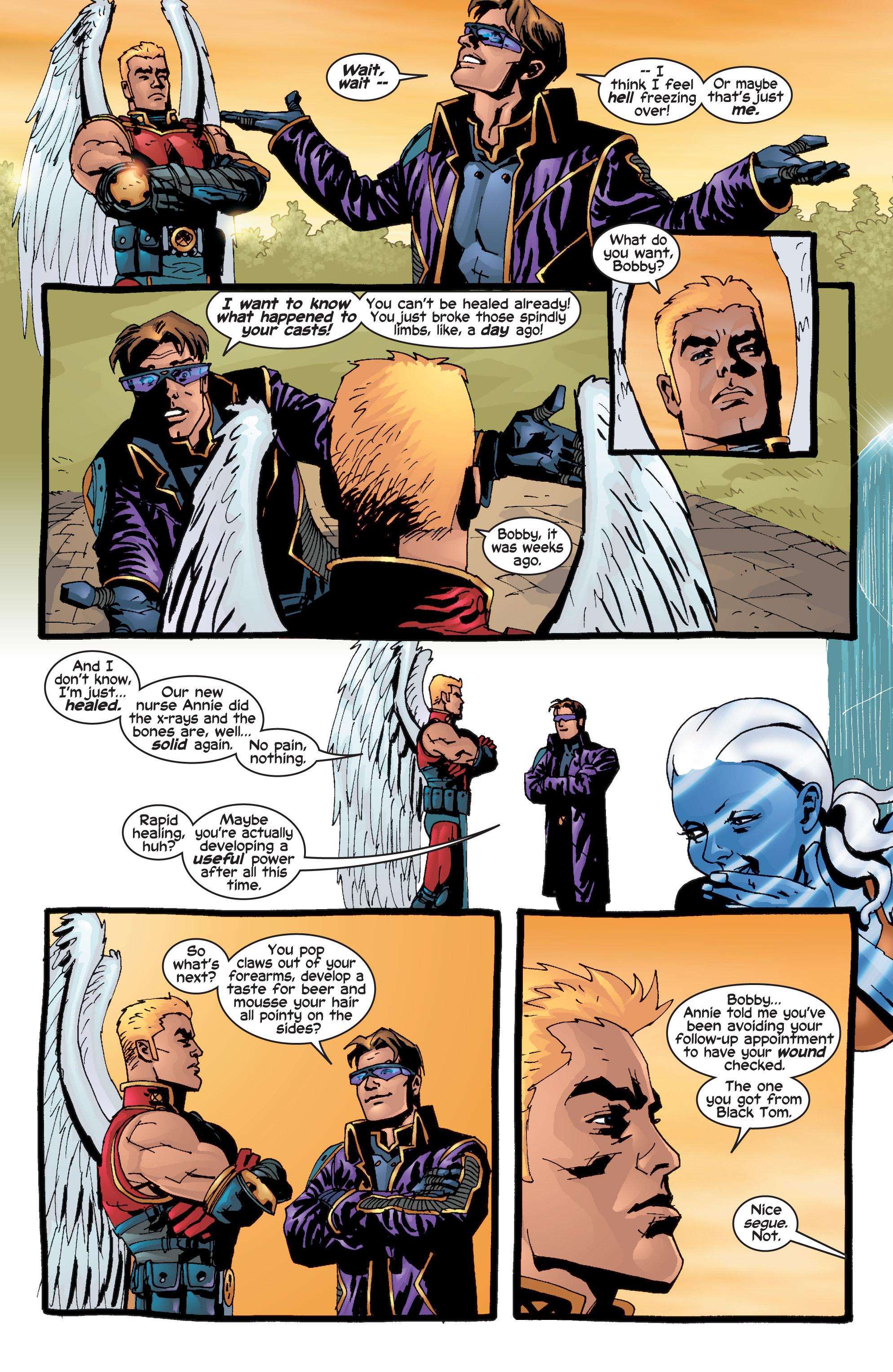 Read online Uncanny X-Men (1963) comic -  Issue #415 - 4
