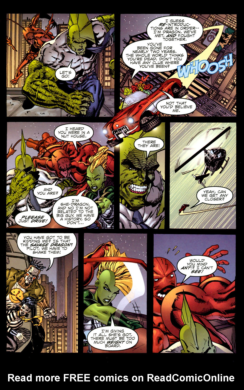 Read online Ant comic -  Issue #2 - 20
