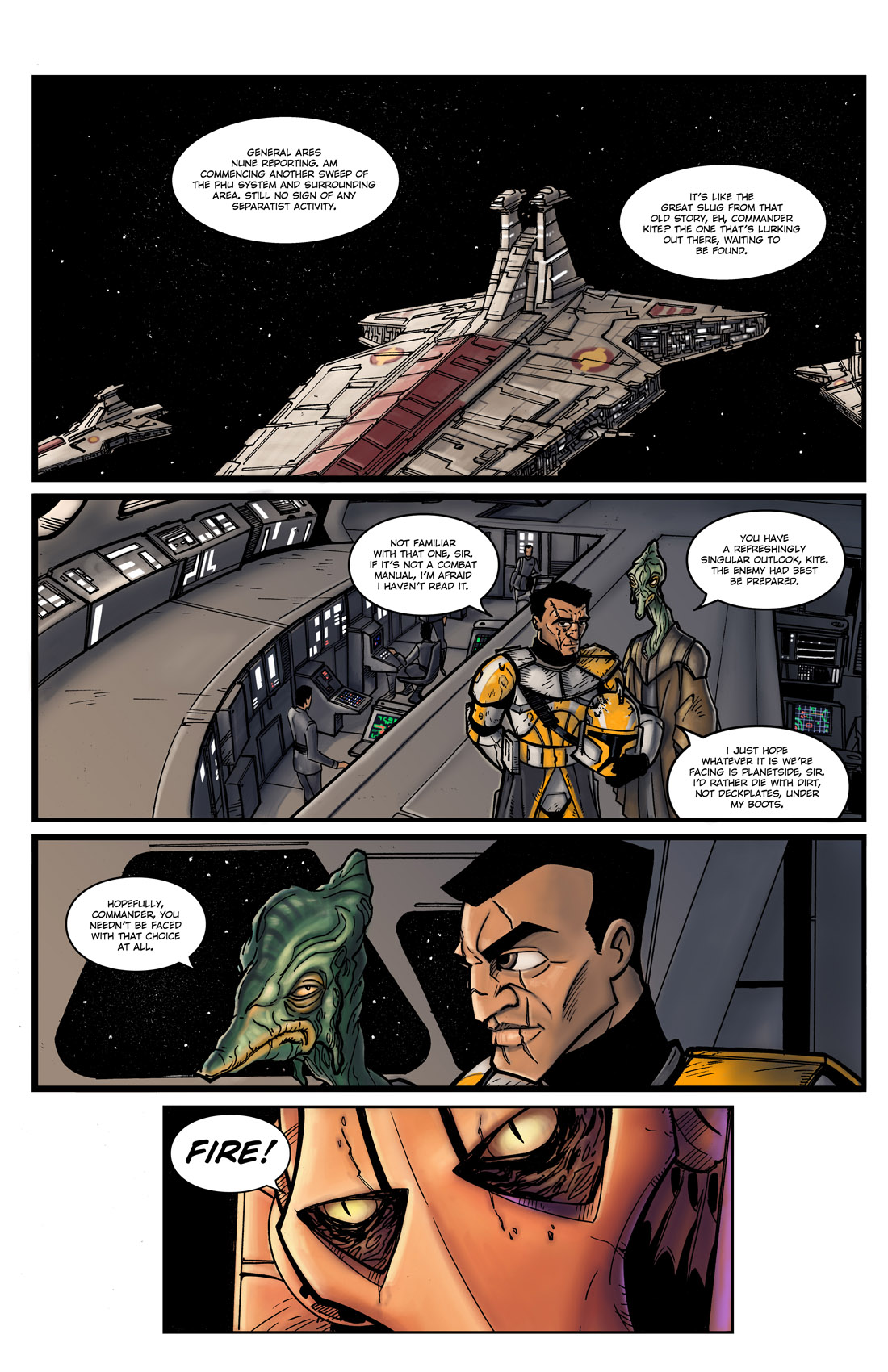 Read online Star Wars: Tales From The Clone Wars comic -  Issue # TPB - 14