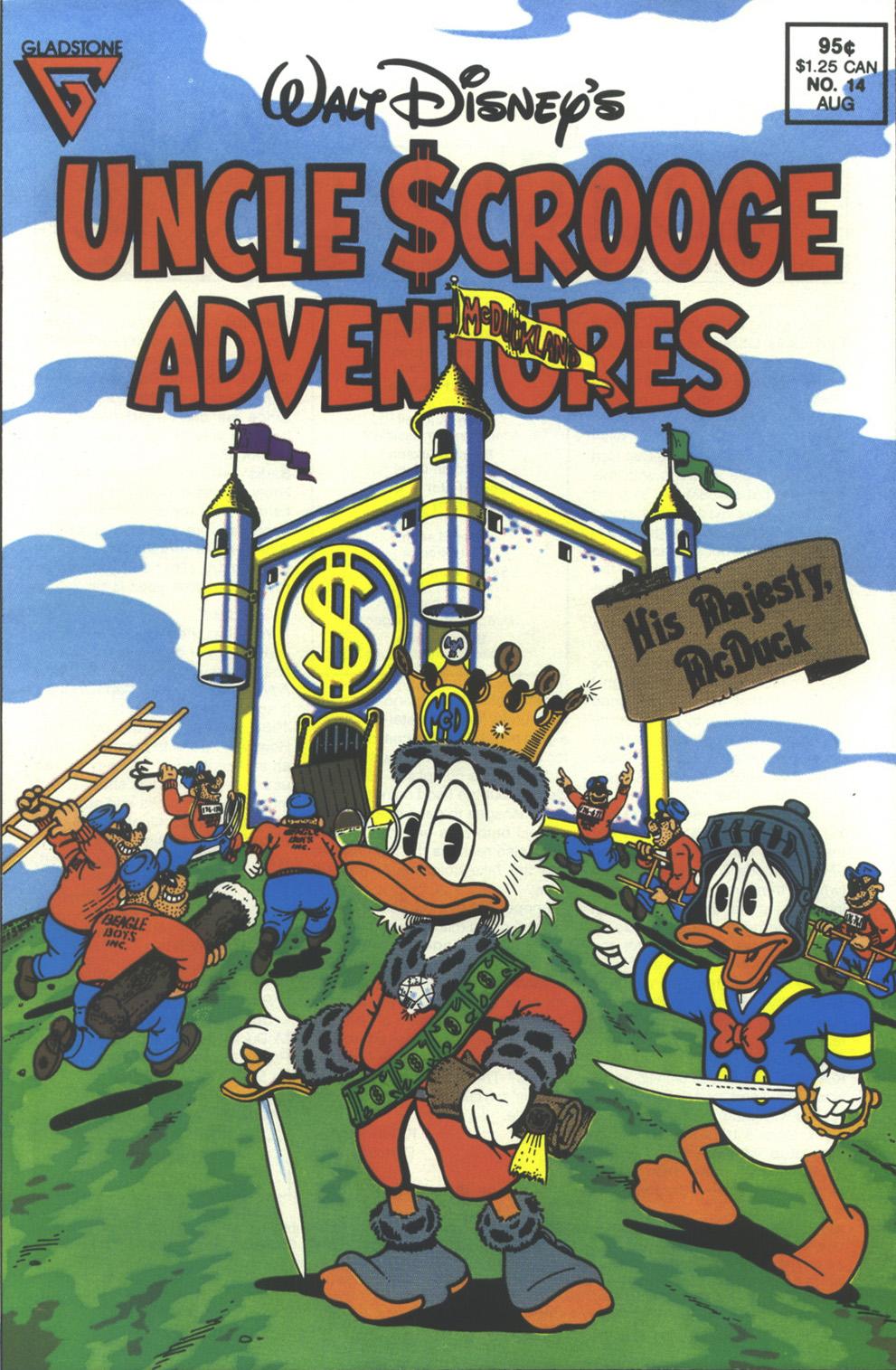 Walt Disney's Uncle Scrooge Adventures issue 14 - Page 1