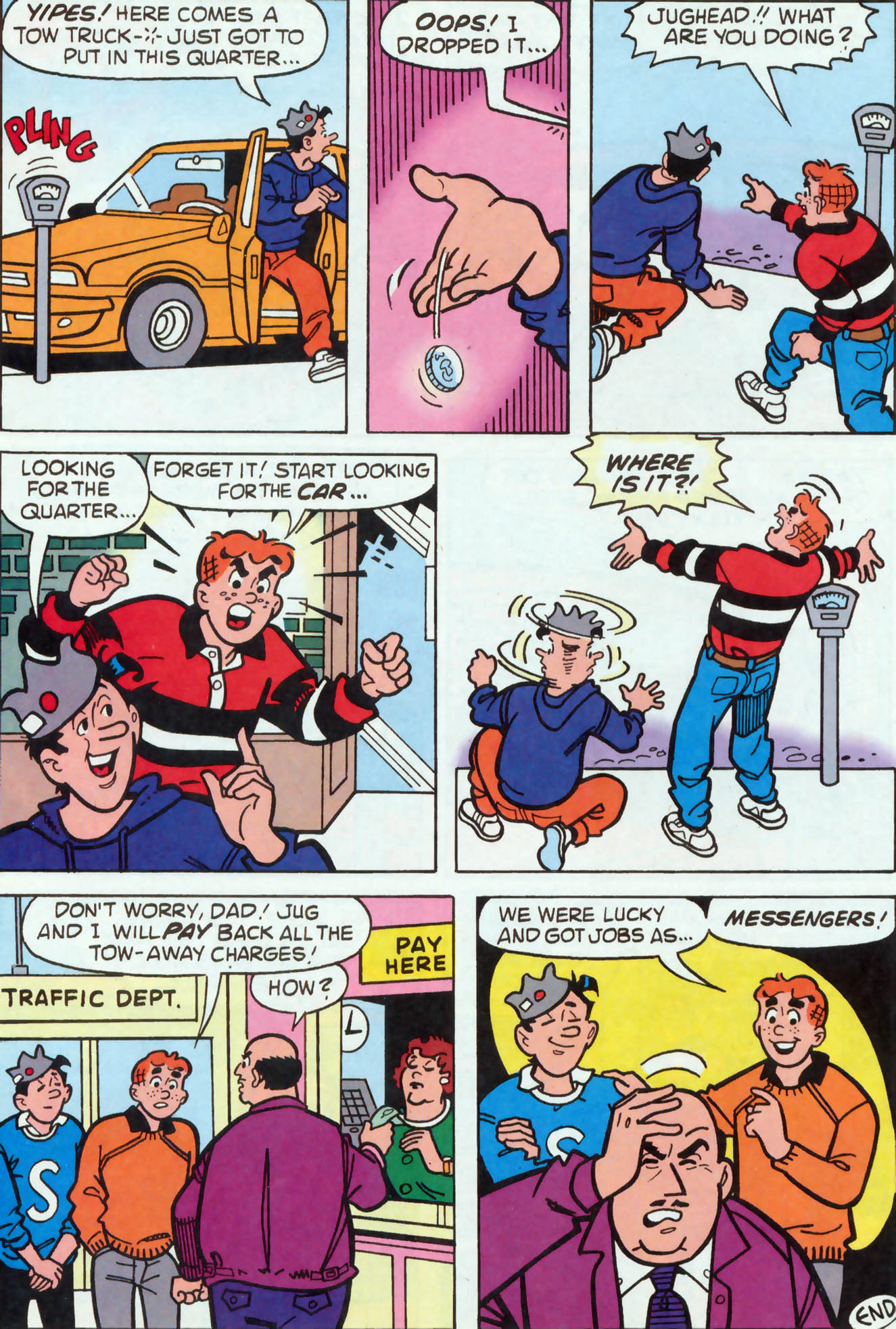 Read online Archie (1960) comic -  Issue #455 - 11