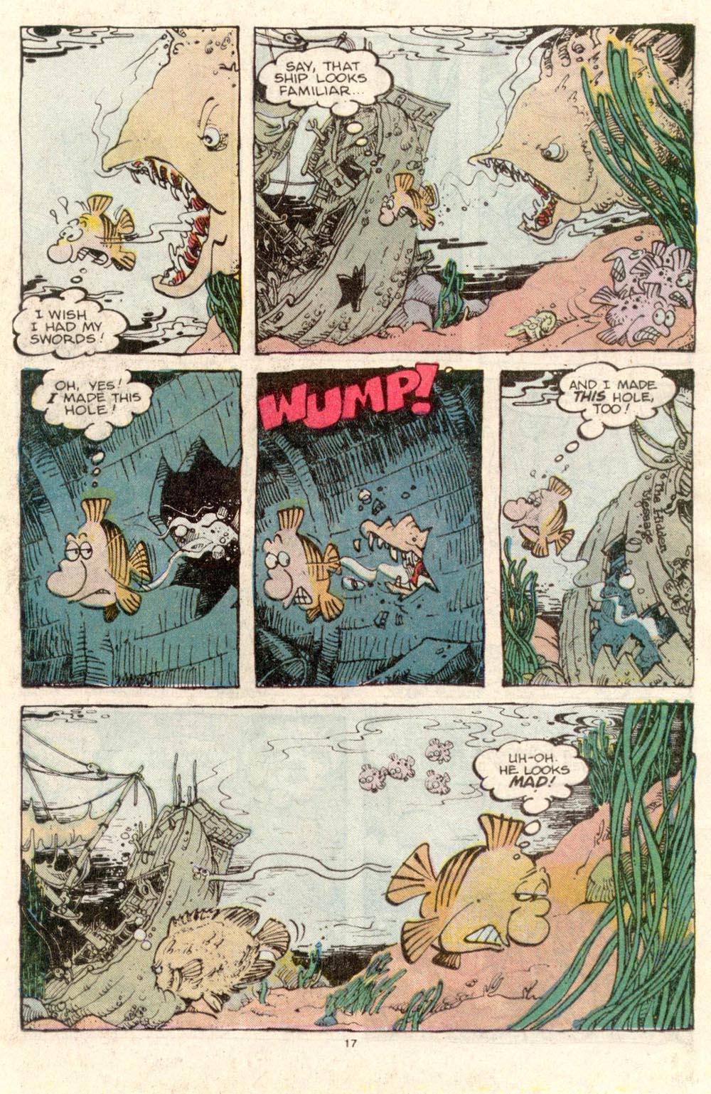 Read online Sergio Aragonés Groo the Wanderer comic -  Issue #34 - 17