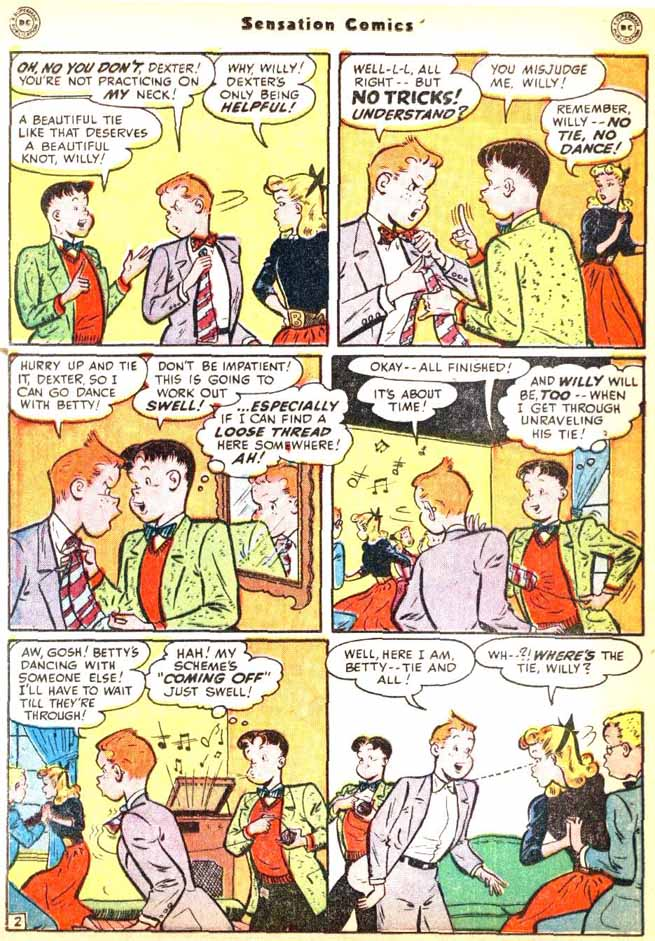 Read online Sensation (Mystery) Comics comic -  Issue #92 - 28