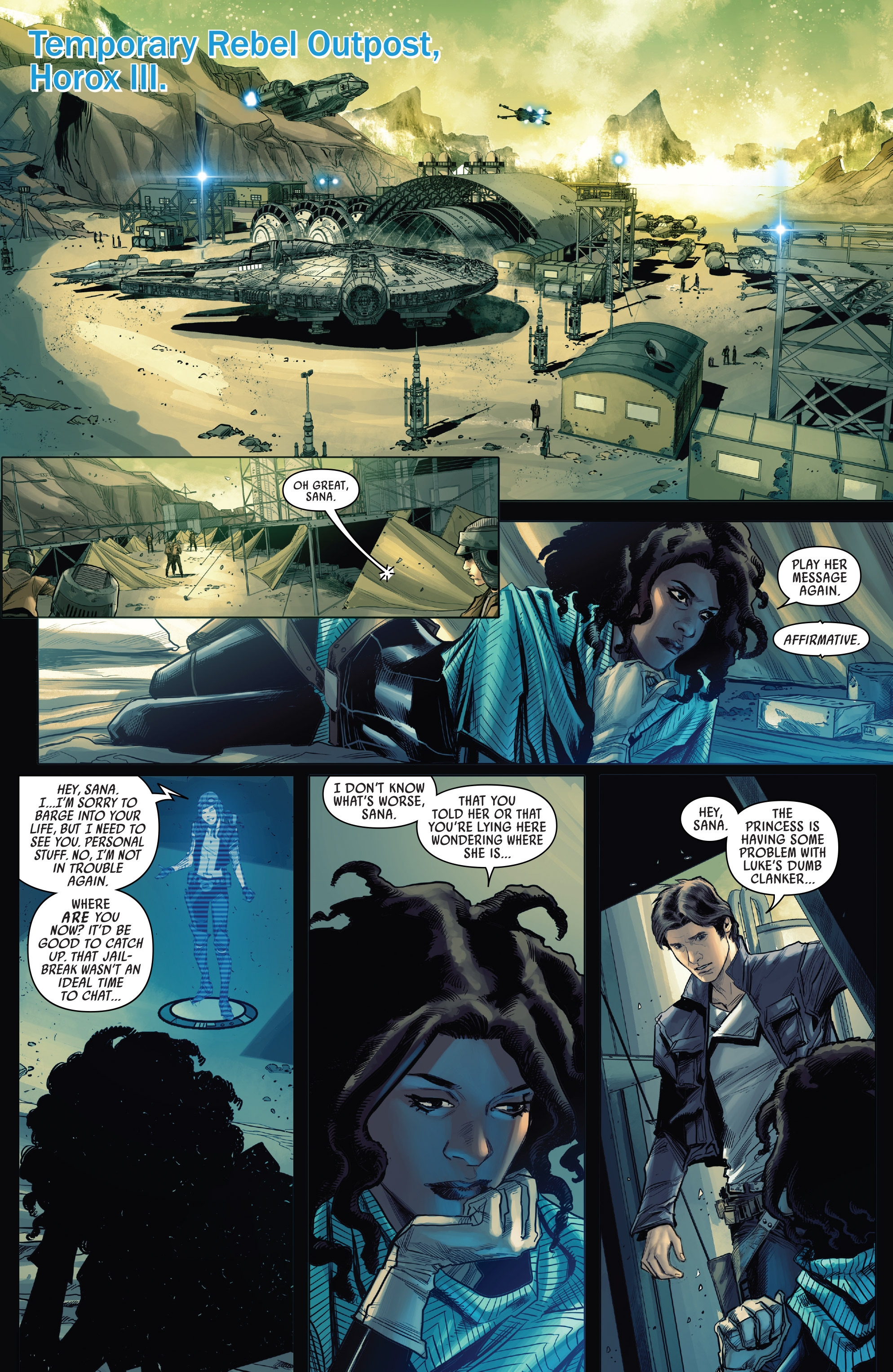 Read online Star Wars: The Screaming Citadel comic -  Issue # Full - 19