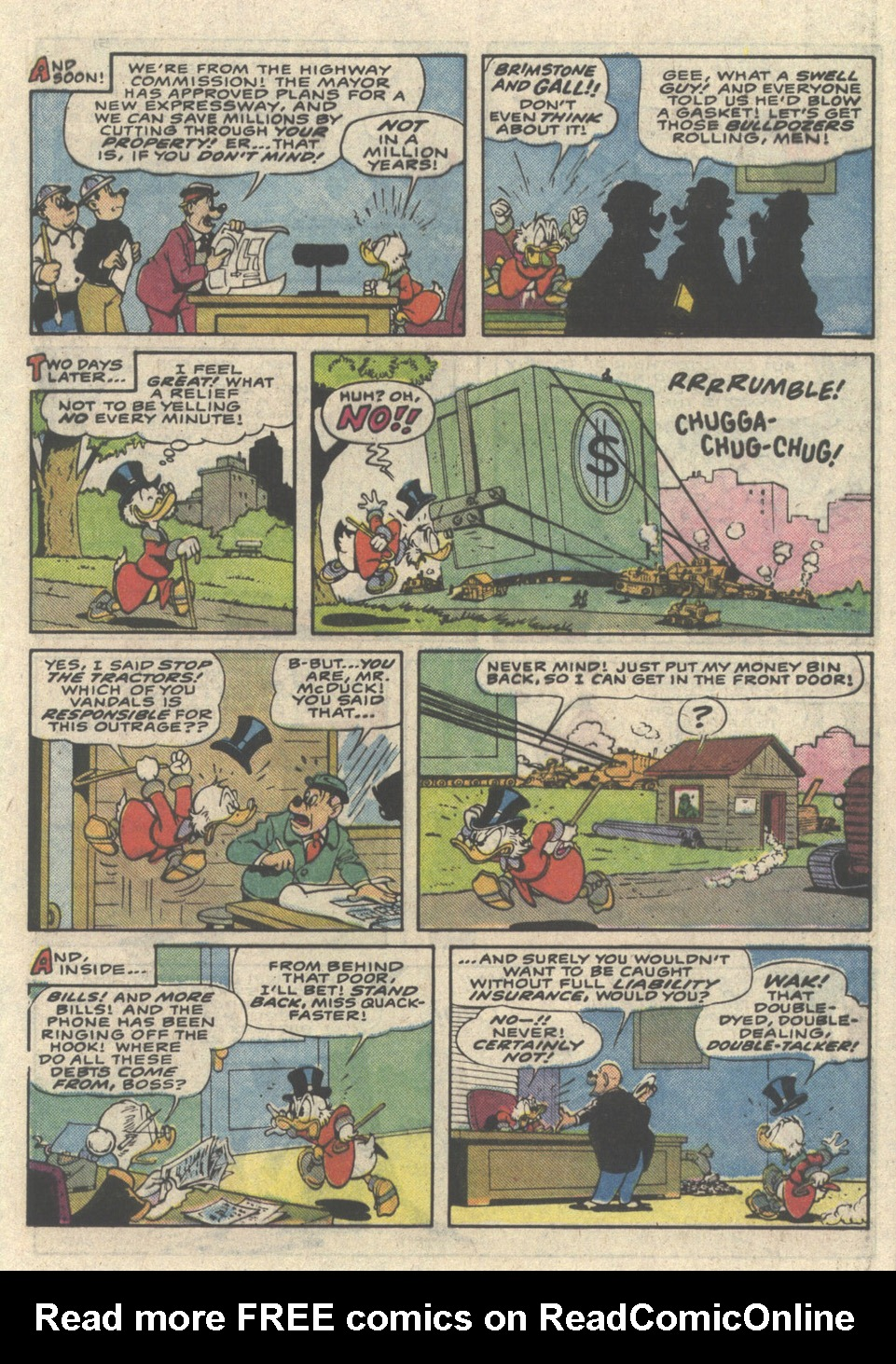 Read online Uncle Scrooge (1953) comic -  Issue #216 - 21