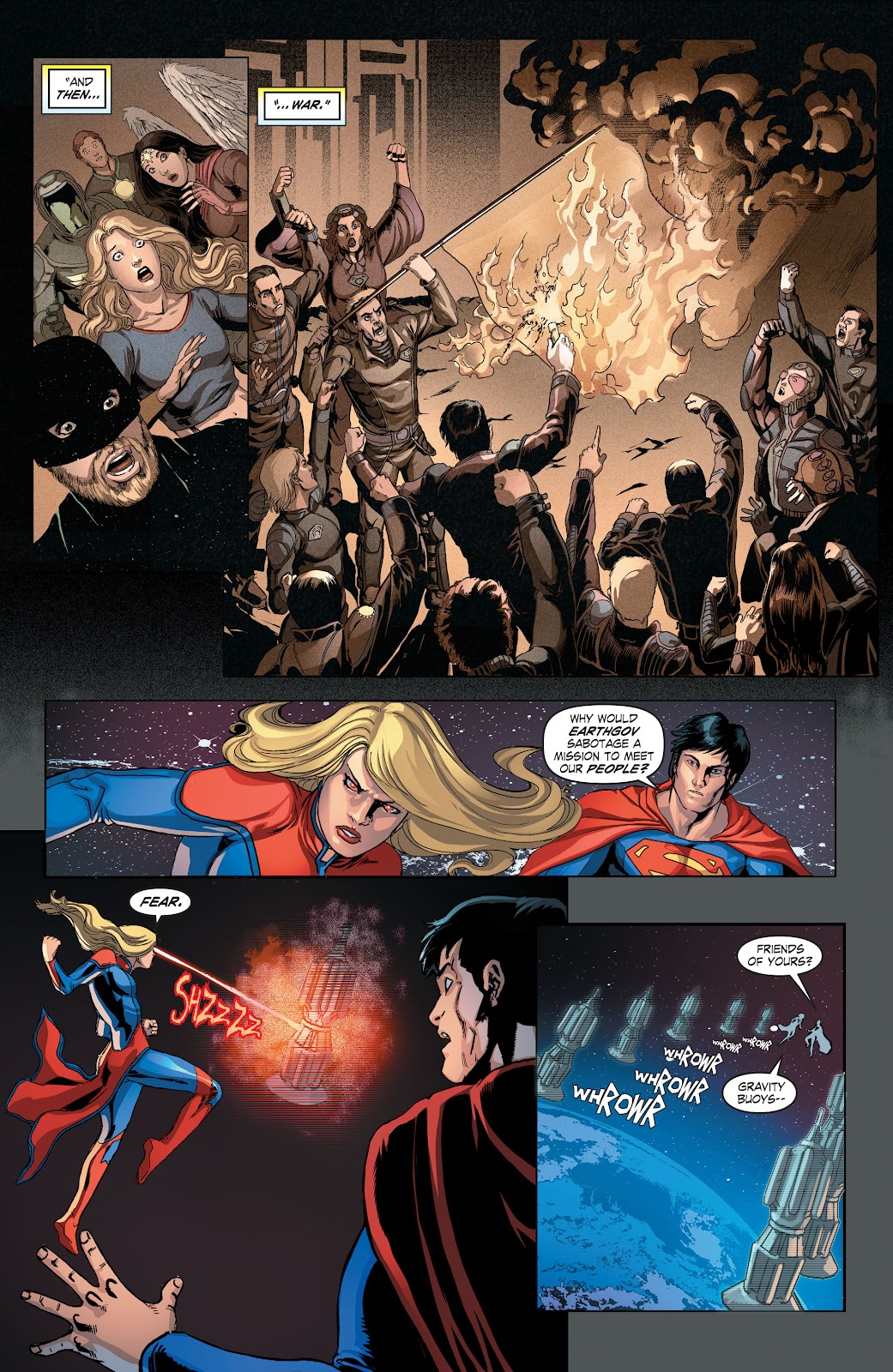 Read online Smallville Season 11 [II] comic -  Issue # TPB 4 - 42