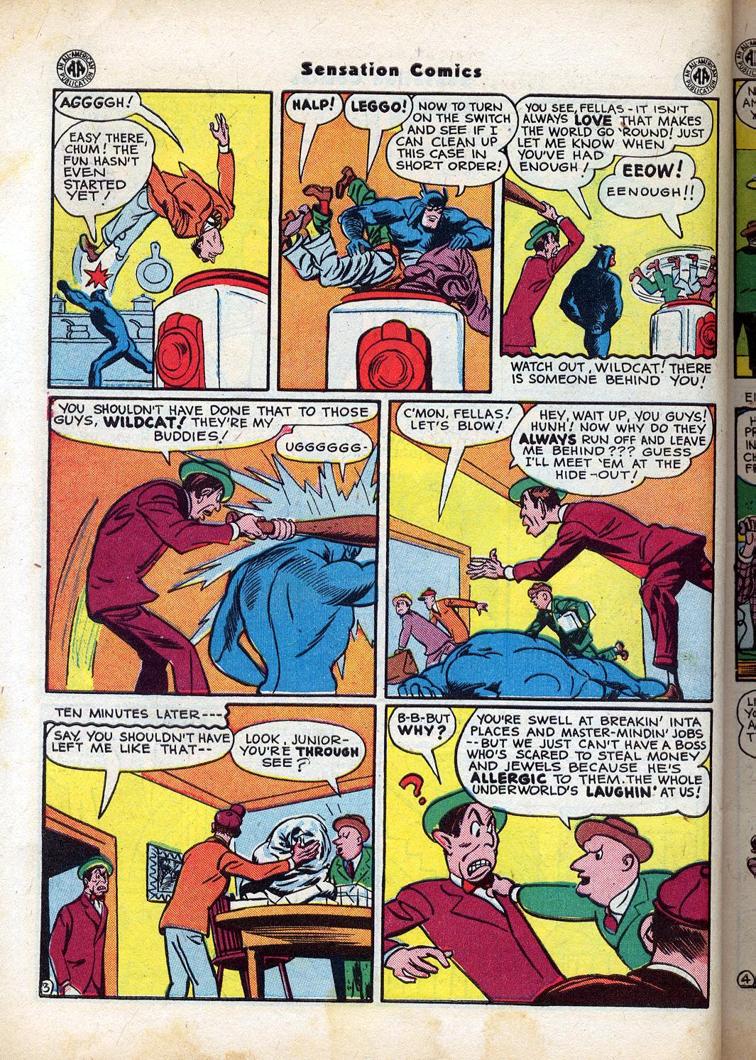 Read online Sensation (Mystery) Comics comic -  Issue #47 - 44
