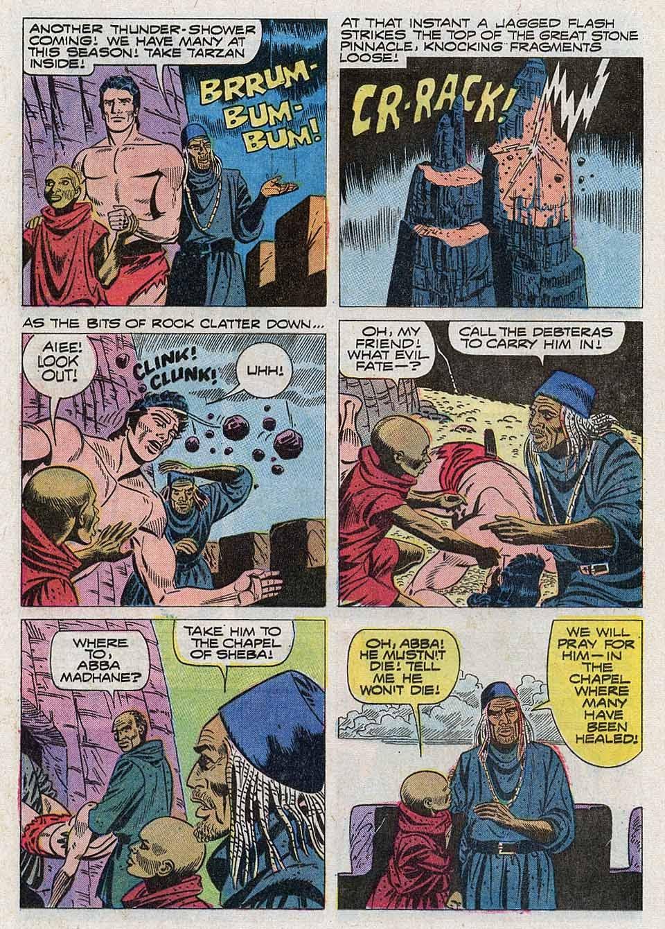 Tarzan (1962) issue 204 - Page 16