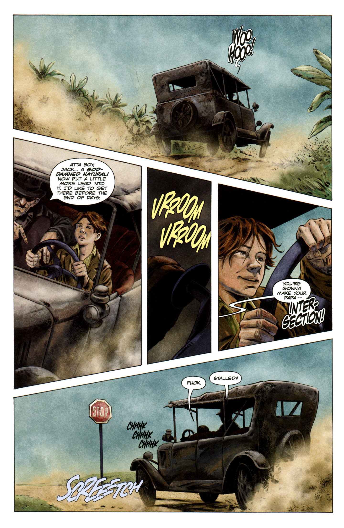 Read online Severed comic -  Issue #5 - 12