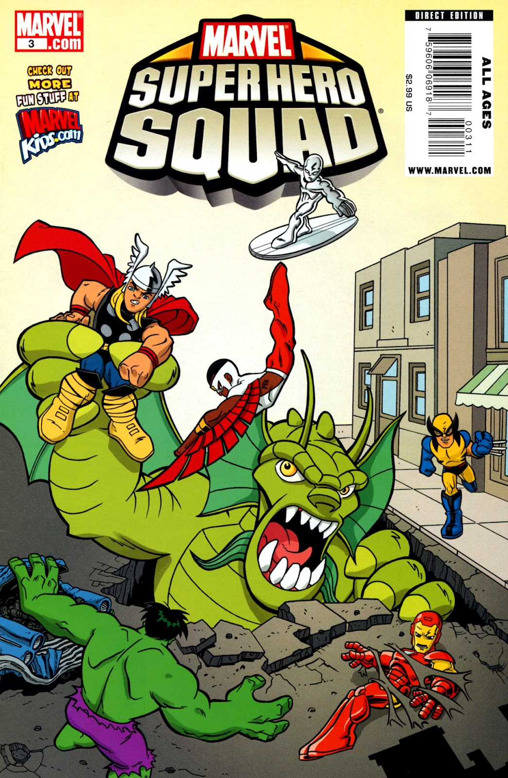 Marvel Super Hero Squad issue 3 - Page 1