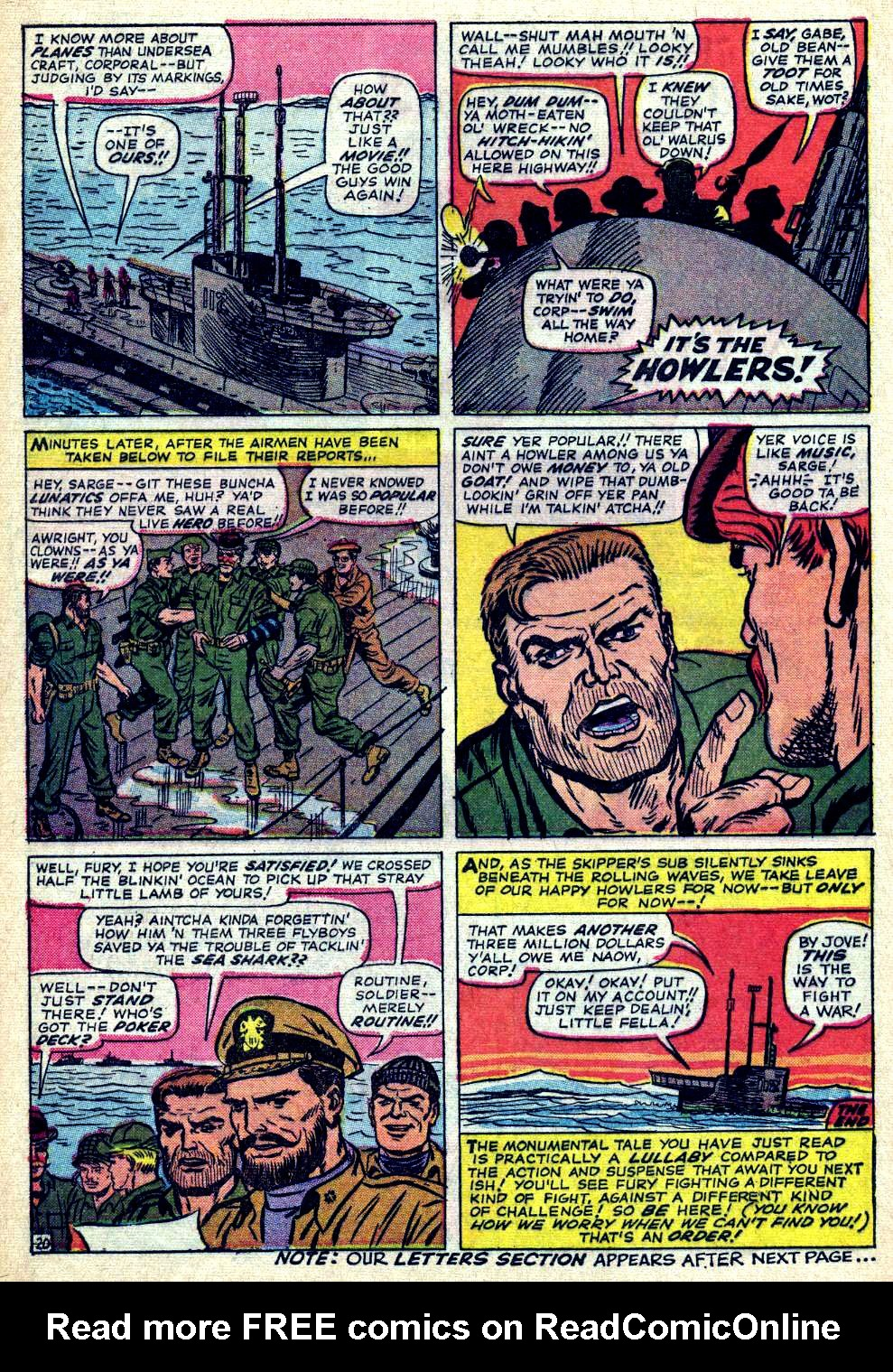 Read online Sgt. Fury comic -  Issue #26 - 28