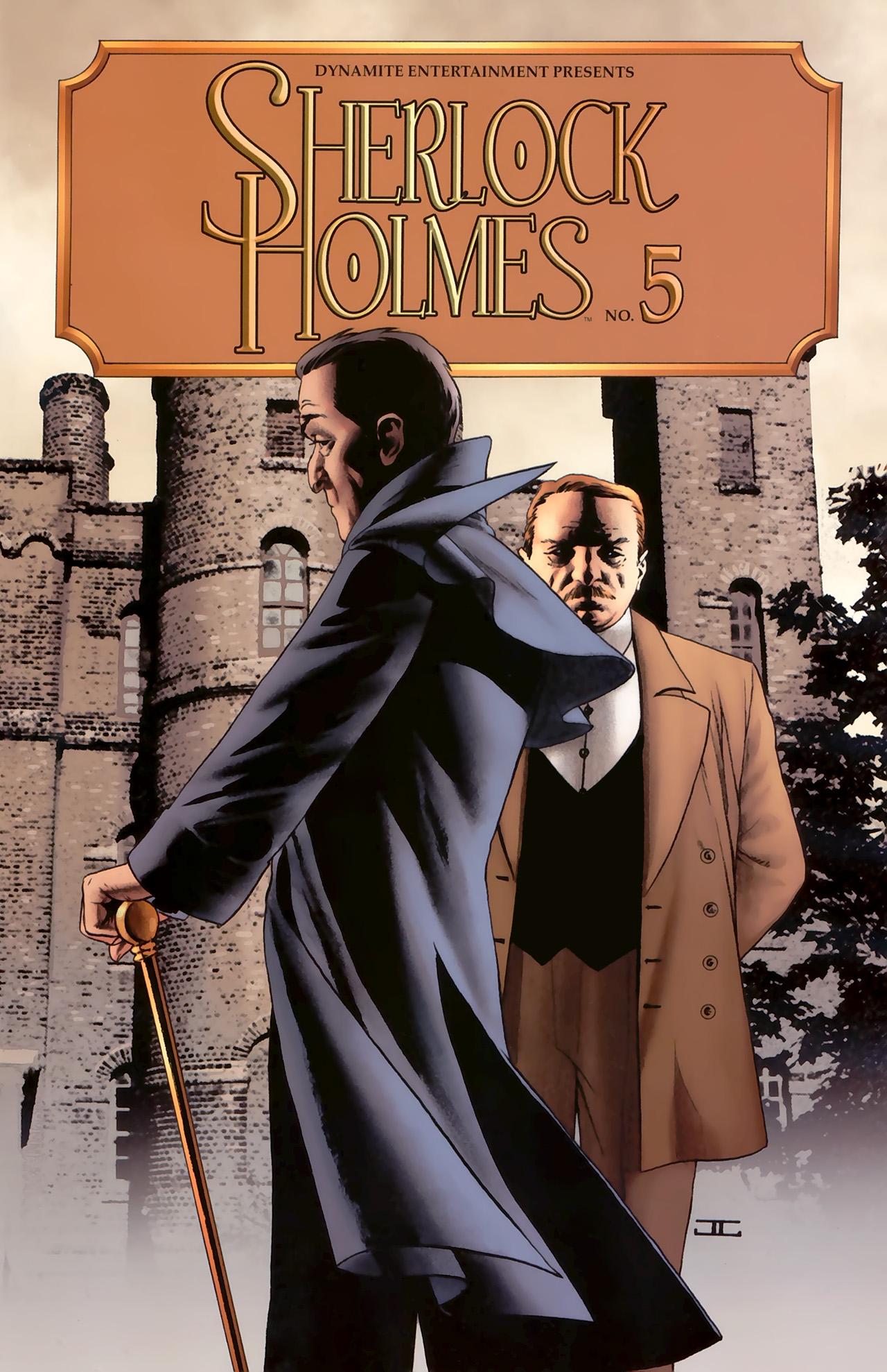 Read online Sherlock Holmes (2009) comic -  Issue #5 - 1