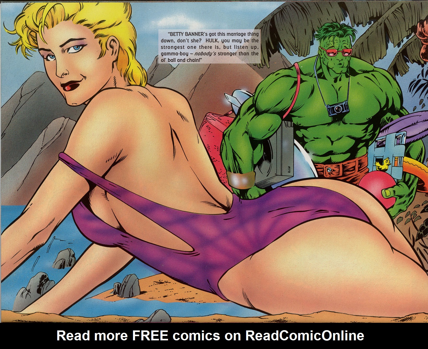 Read online Marvel Swimsuit Special comic -  Issue #2 - 30