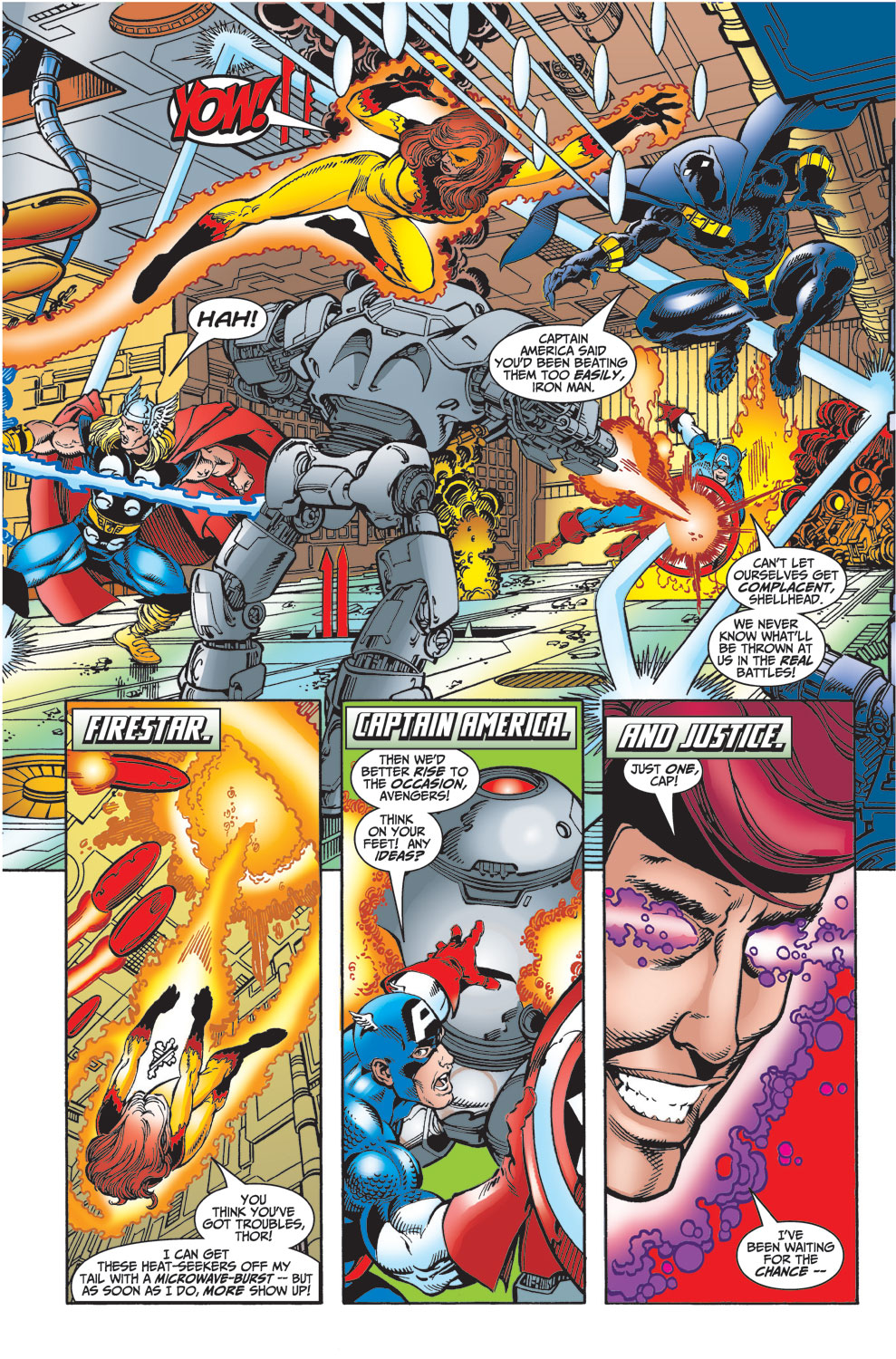 Read online Avengers (1998) comic -  Issue #23 - 4