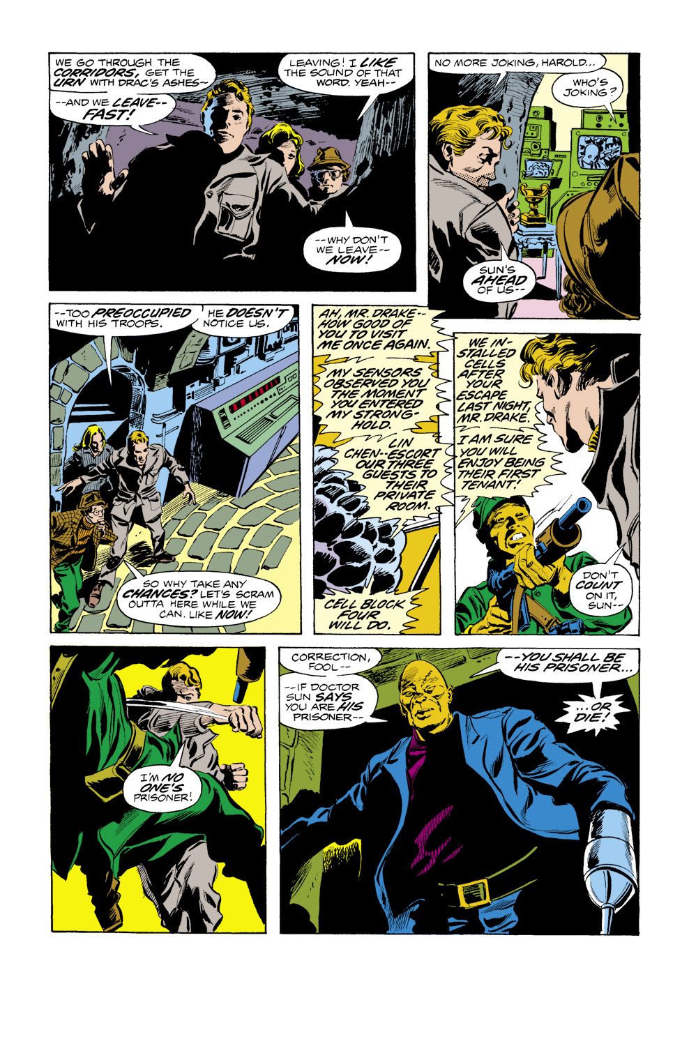 Tomb of Dracula (1972) issue 40 - Page 18
