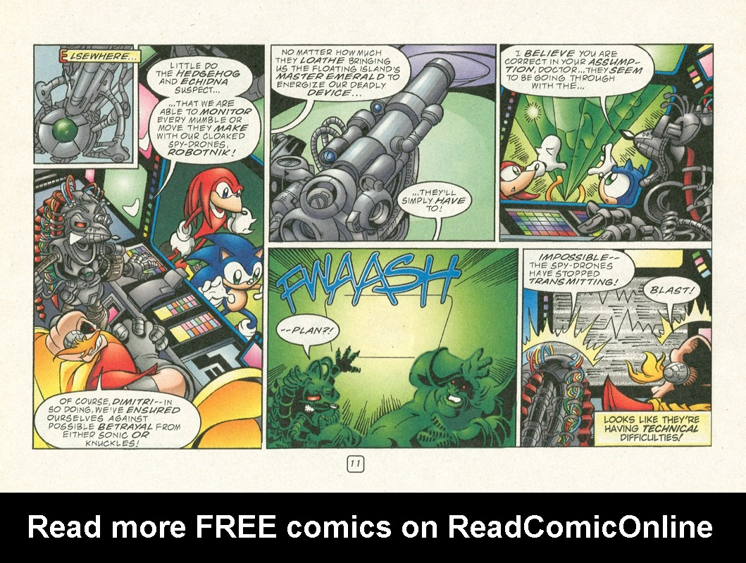 Read online Sonic Super Special comic -  Issue #12 - Sonic and Knuckles visa versa - 14