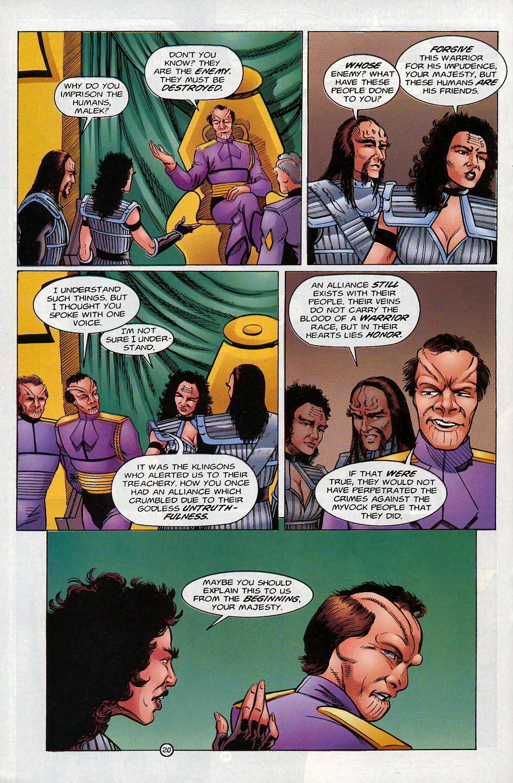 Read online Star Trek: Deep Space Nine - Lightstorm comic -  Issue # Full - 20